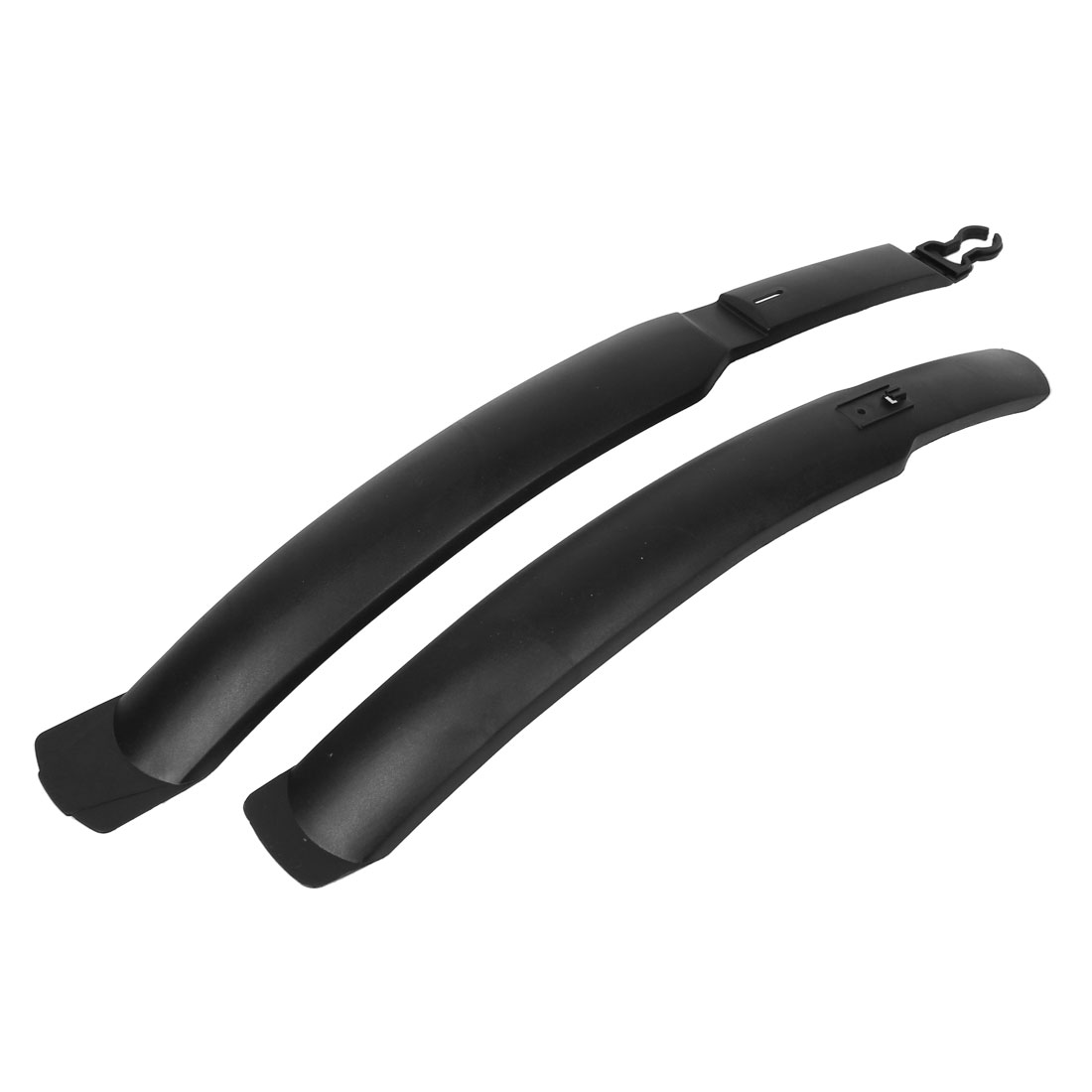Replacing Part Plastic Quick Release Bicycle MTB Front Rear Fender Mudguard Set Black