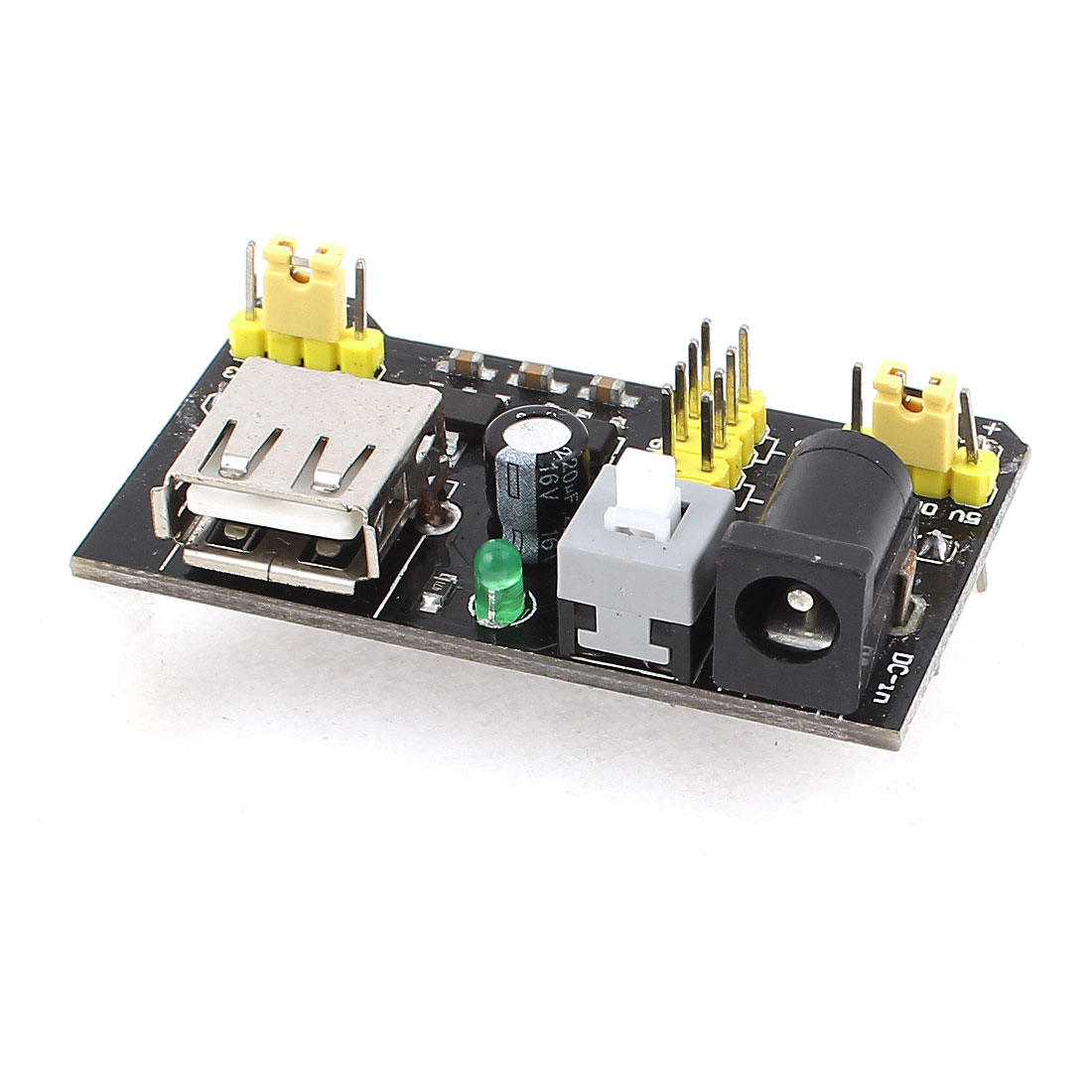 MB102 Breadboard Power Supply Module 3.3V/5V for Solderless Bread Board