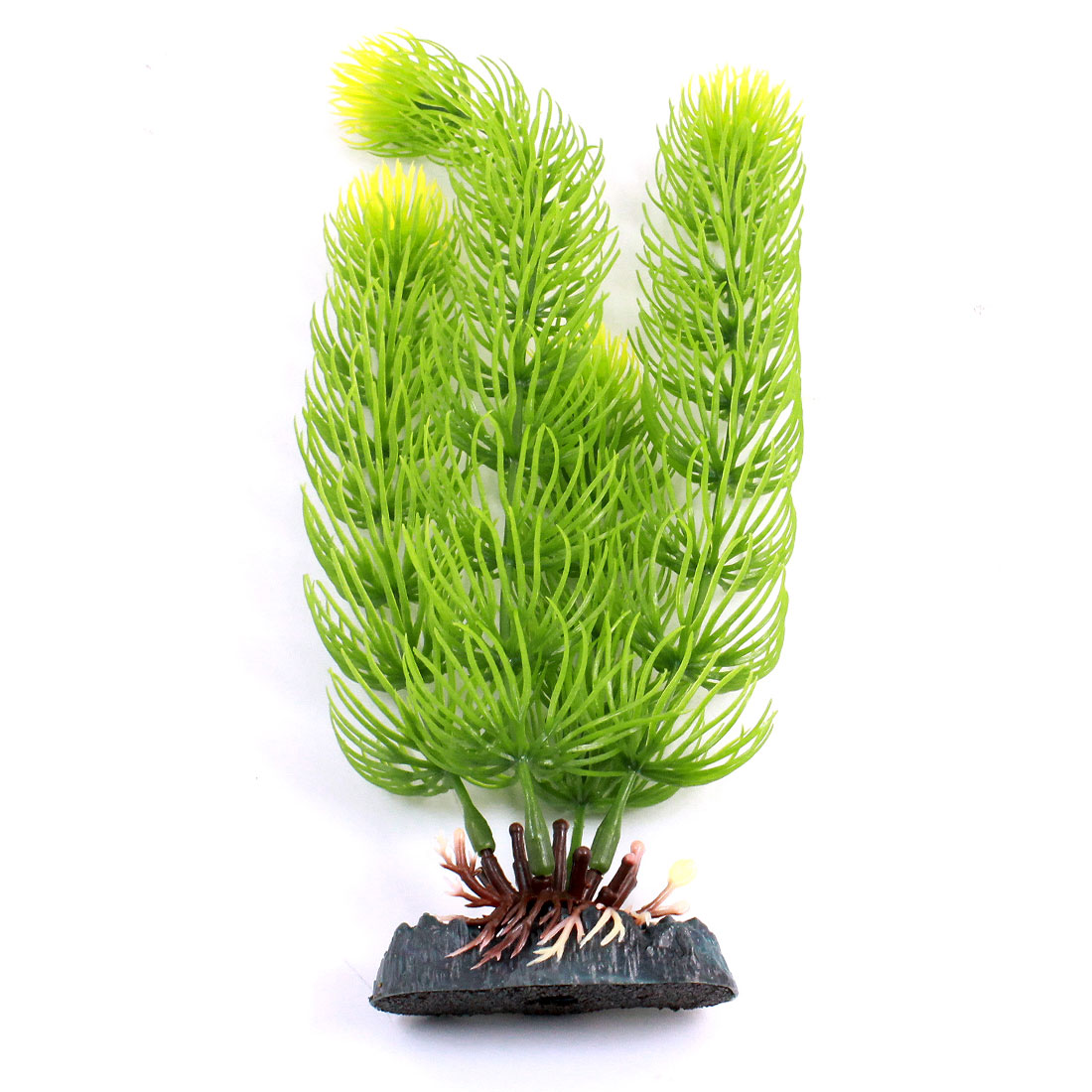 "Fish Tank Aquascaping Artificial Aquatic Grass Decor Green 8.5"" High"
