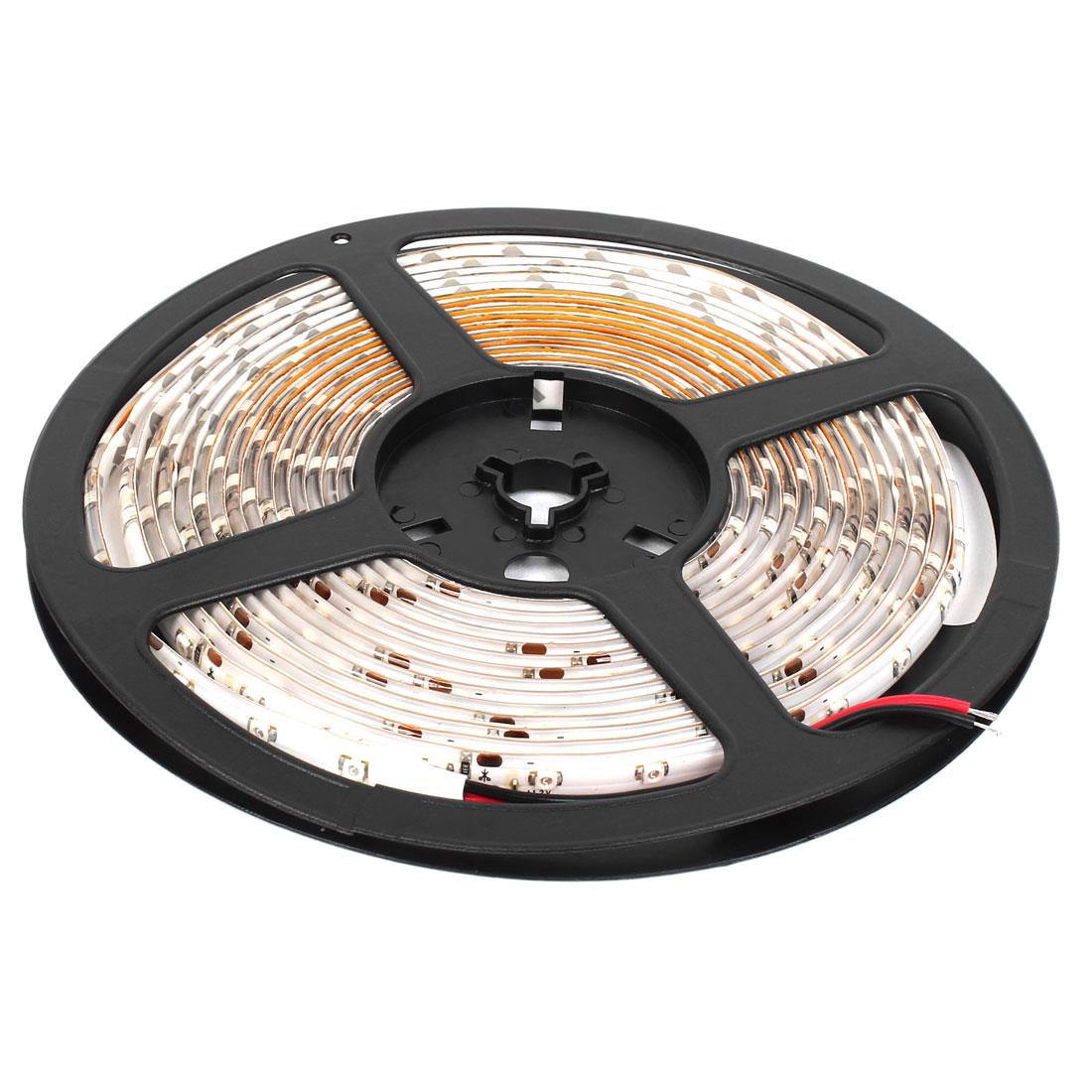 Indoor DC 12V Red 3528 SMD 300 LEDs Waterproof Flexible LED Strip Light 5M