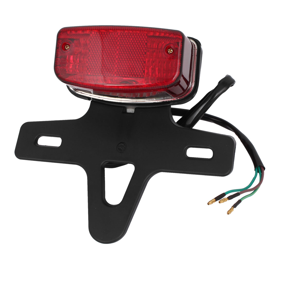 Plastic Shell Red Light Autobike Tail Lights Lamps for SG Motorbike