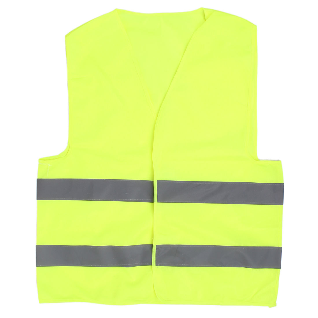 Reflective Traffic Safety Security Vest Yellow Green 66cm x 56cm