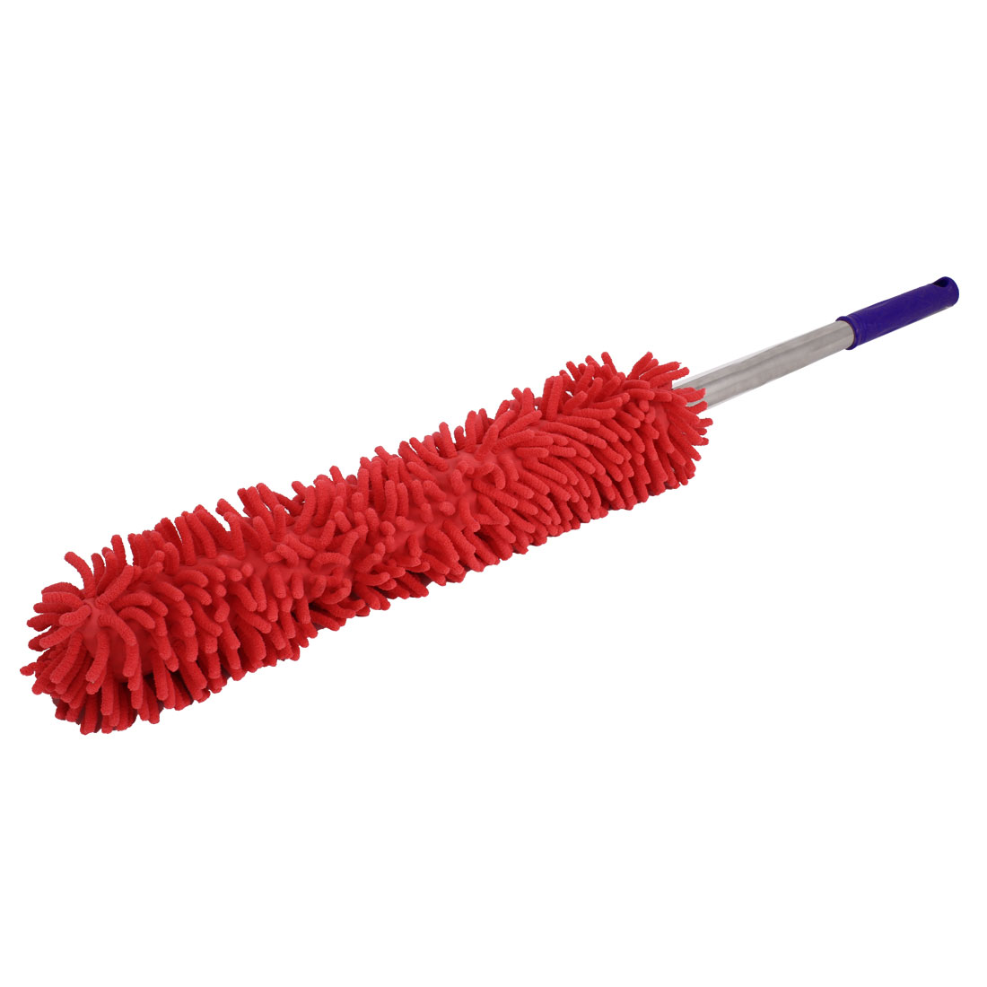 Nonslip Plastic Hand Grip Microfiber Car Dirt Duster Waxing Brush Red