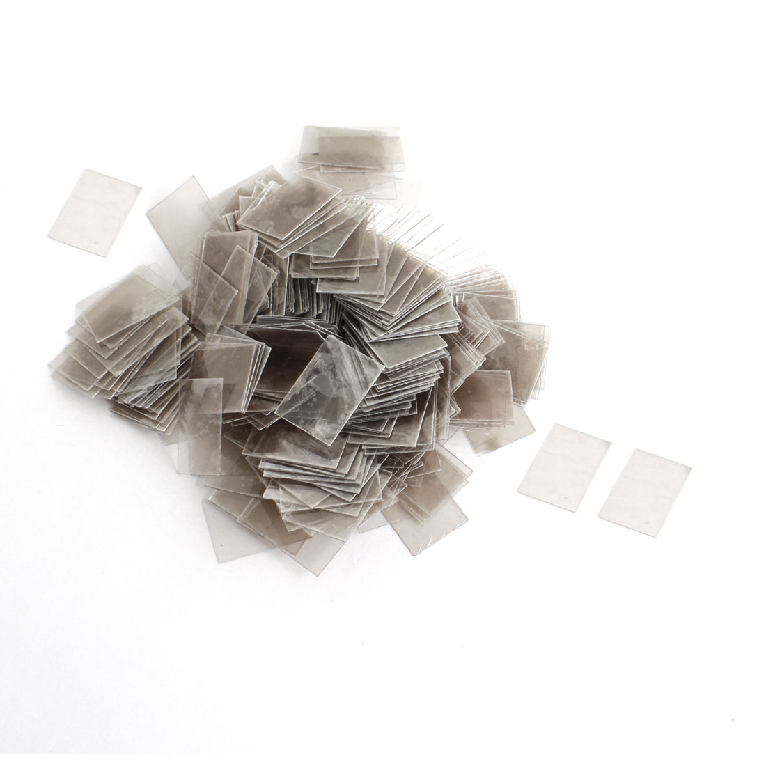 500pcs 13mm x 18cm x 0.12mm Mica Insulator Sheets Replacement