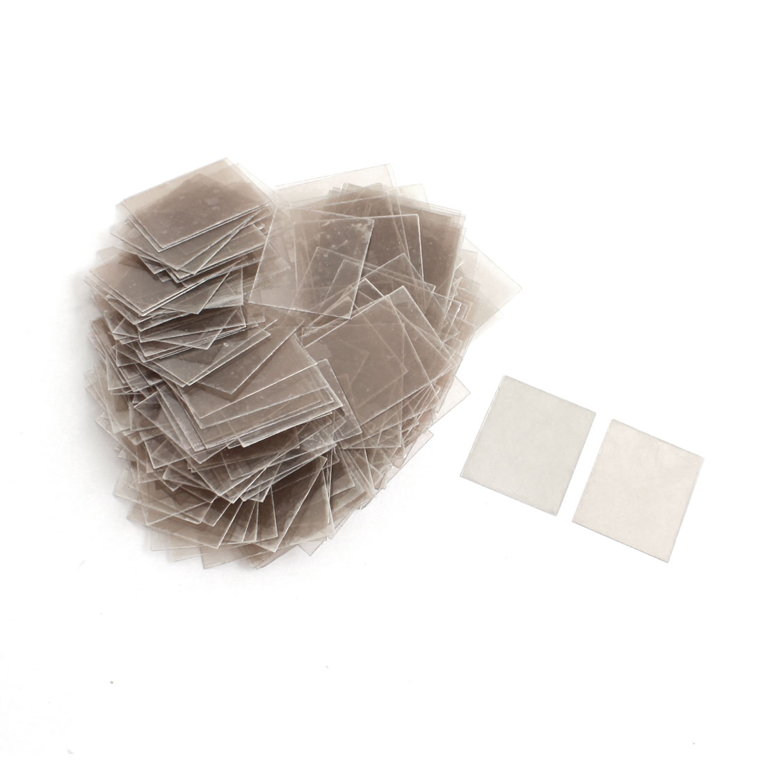 200Pcs 20mm x 25cm x 0.12mm Repairing Part Mica Insulator Sheets