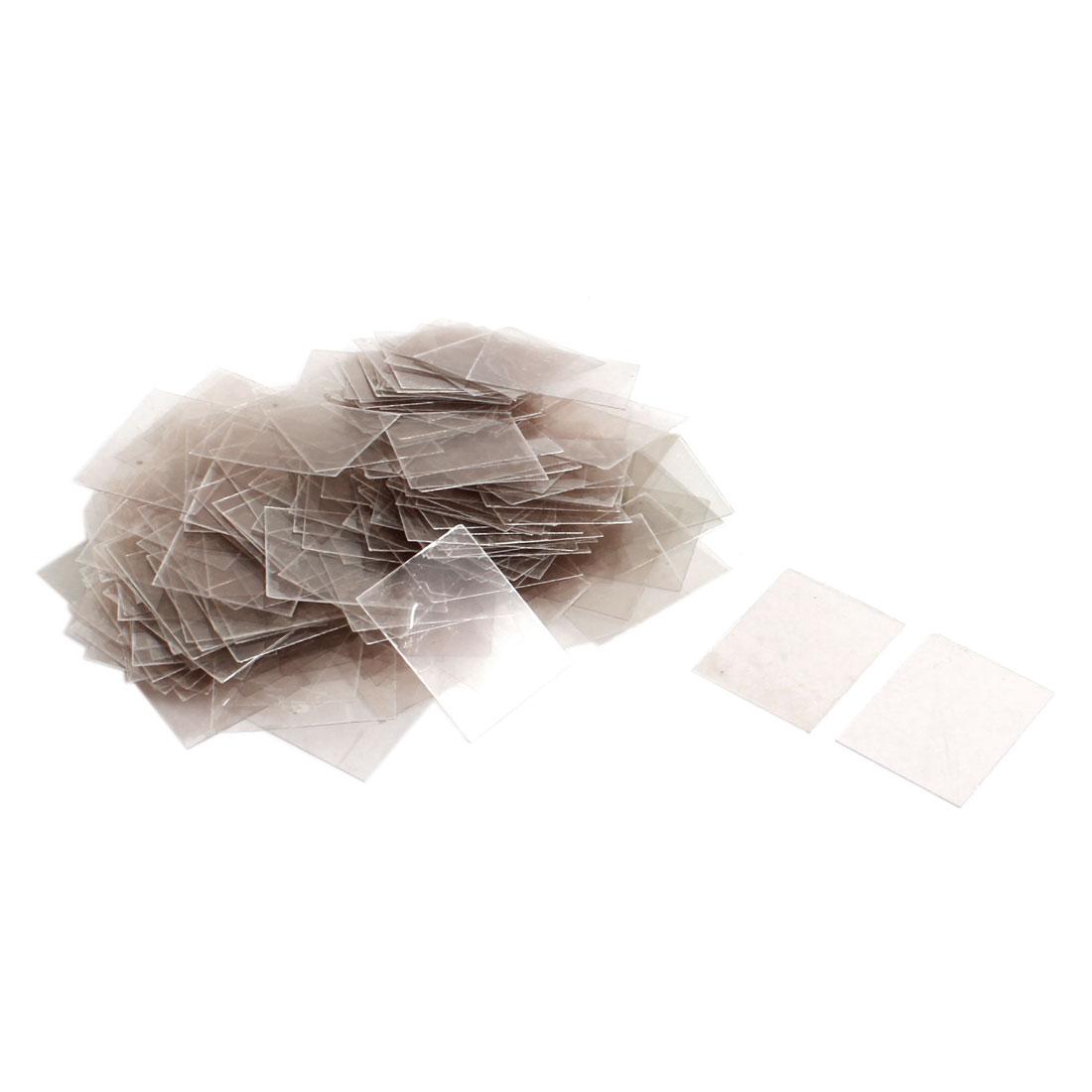 200pcs 20mm x 25cm x 0.09mm Mica Paper Sheets Insulator