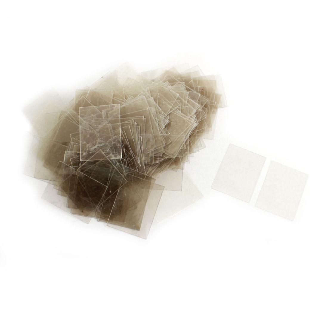 300pcs 22mm x 29cm x 0.09mm Mica Insulator Sheets Plates