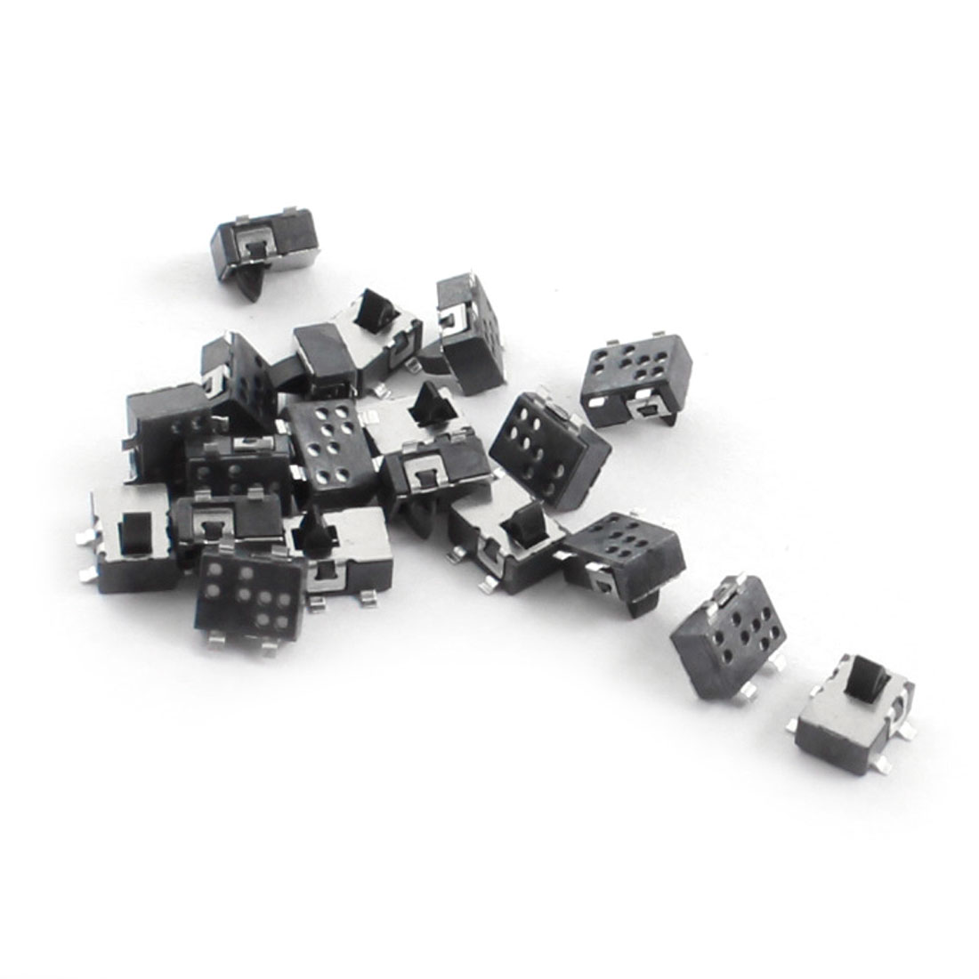 20 Pcs 4.7mm x 3.5mm Momentary 4-Pin SMD SMT Mount Type Pushbutton Control Mini Tact Switch