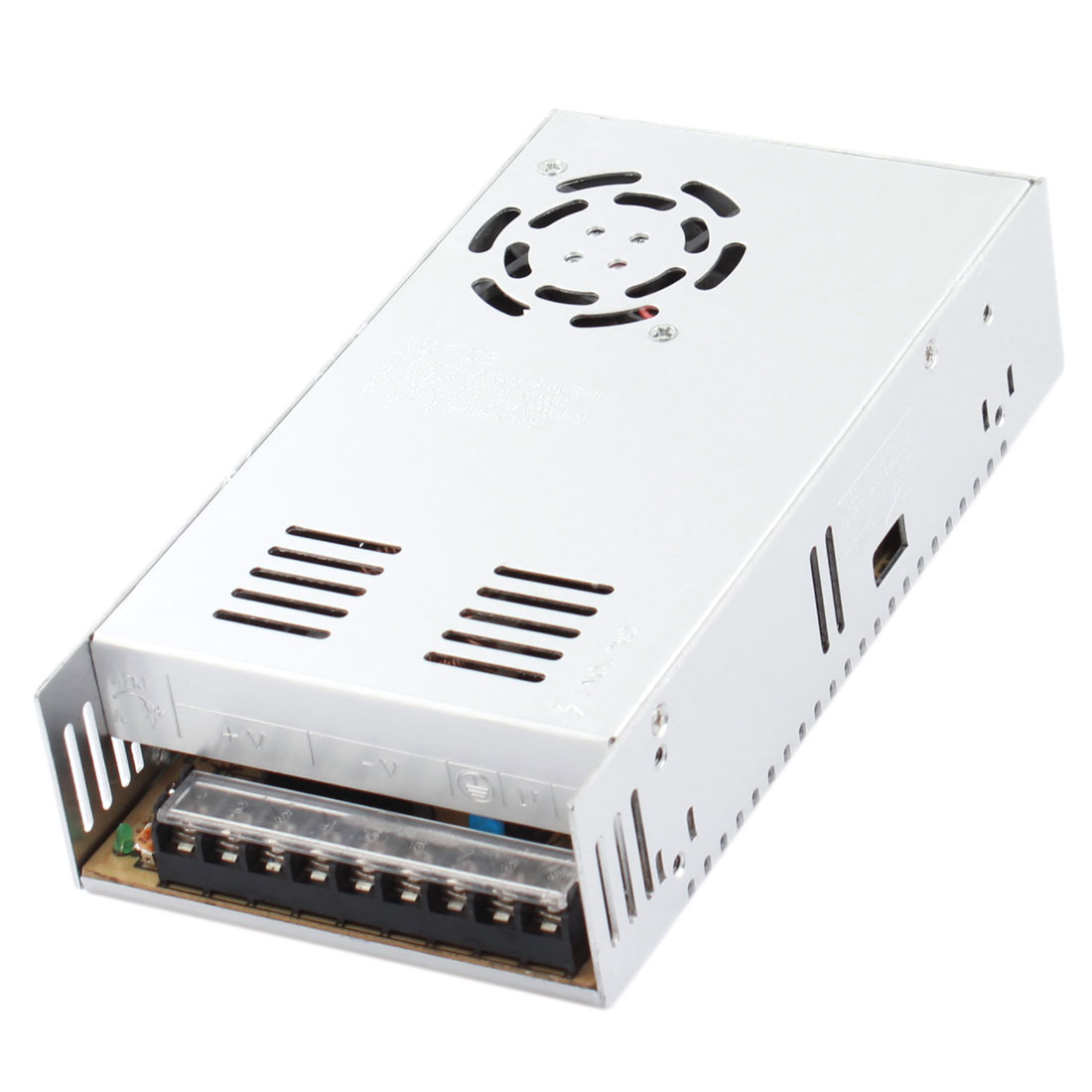 AC 110/220V to DC 24V 15A Single Output LED Strip Light Power Supply Switch Converter