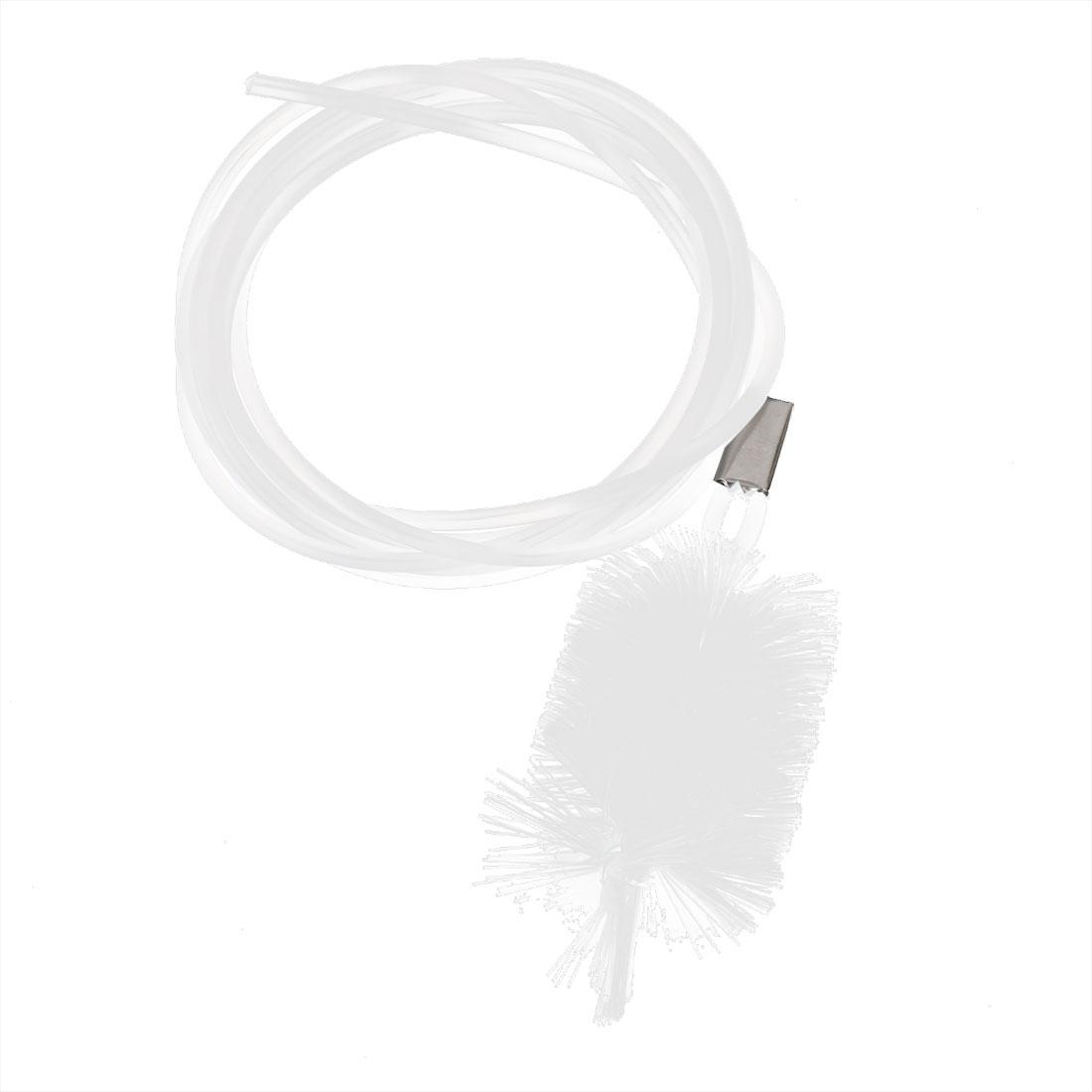 Aquarium White Water Filter Pipe Air Tube Hose Cleaner Brush 150cm Length