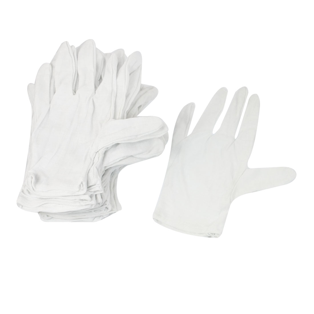 12 Pairs Anti-static Anti-skid Gloves ESD PC Computer Working White
