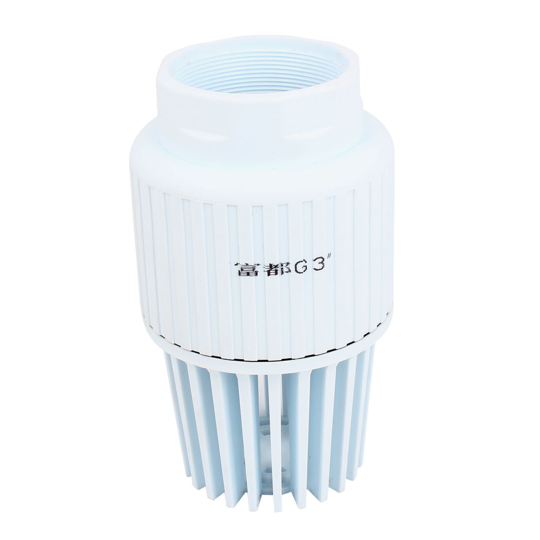 3PT Female Thread PVC Foot Valve White for Centrifugal Jet Pumps