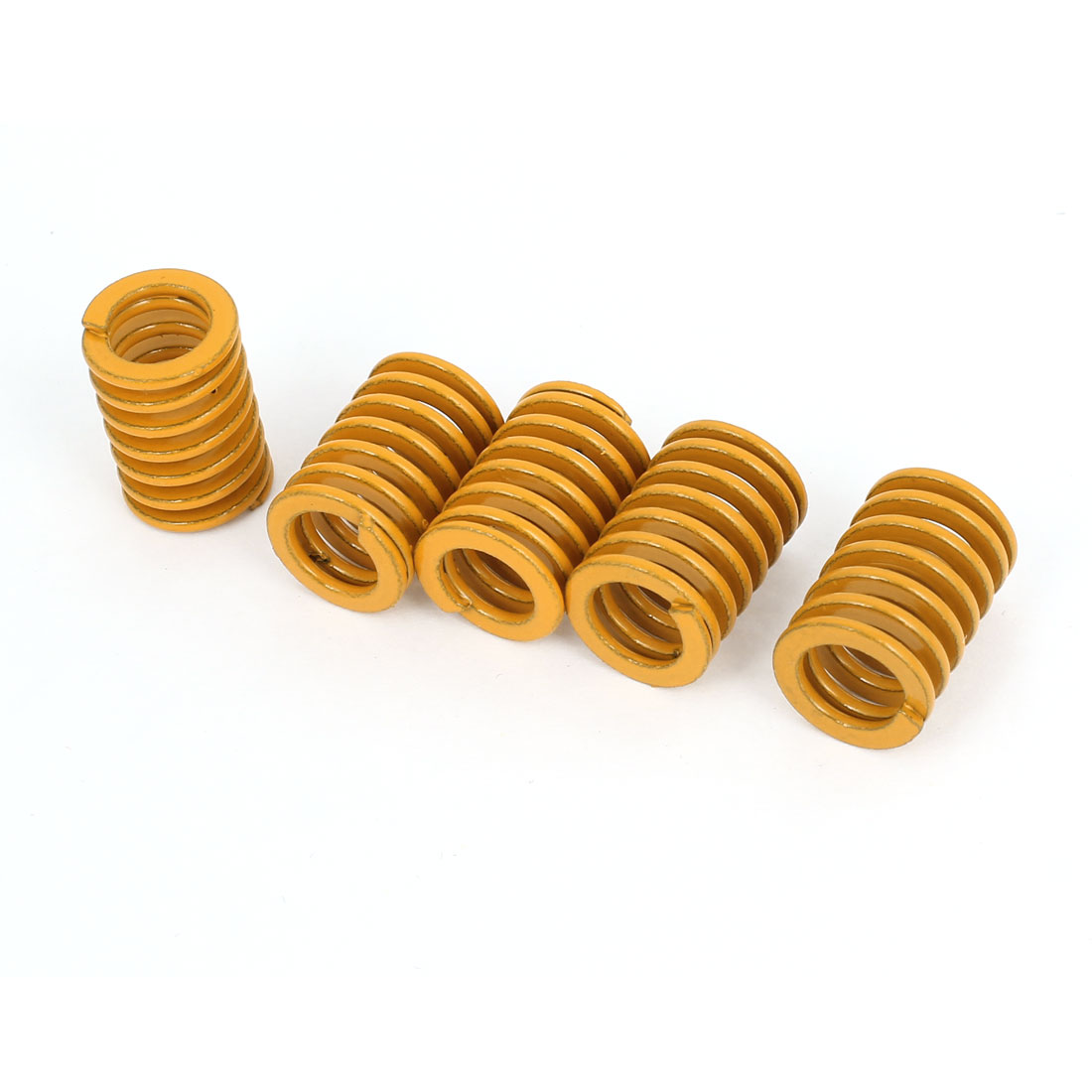 9mm x 14mm x 20mm Rectangular Section Mold Mould Die Spring Yellow 5 pcs