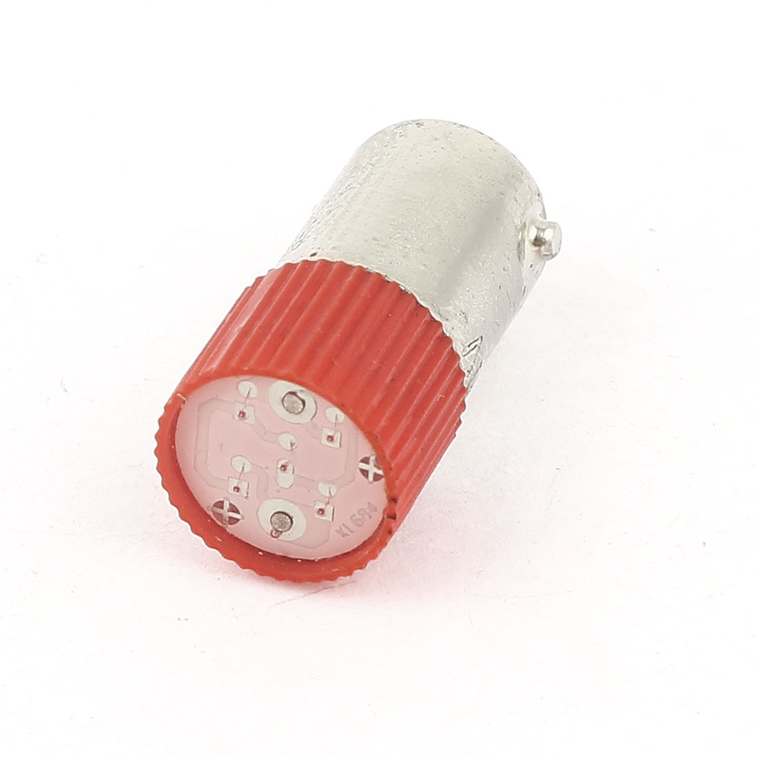 Industrial 10mm Round Head Red LED Light Signal Indicator Lamp AC 220V/240V 3A