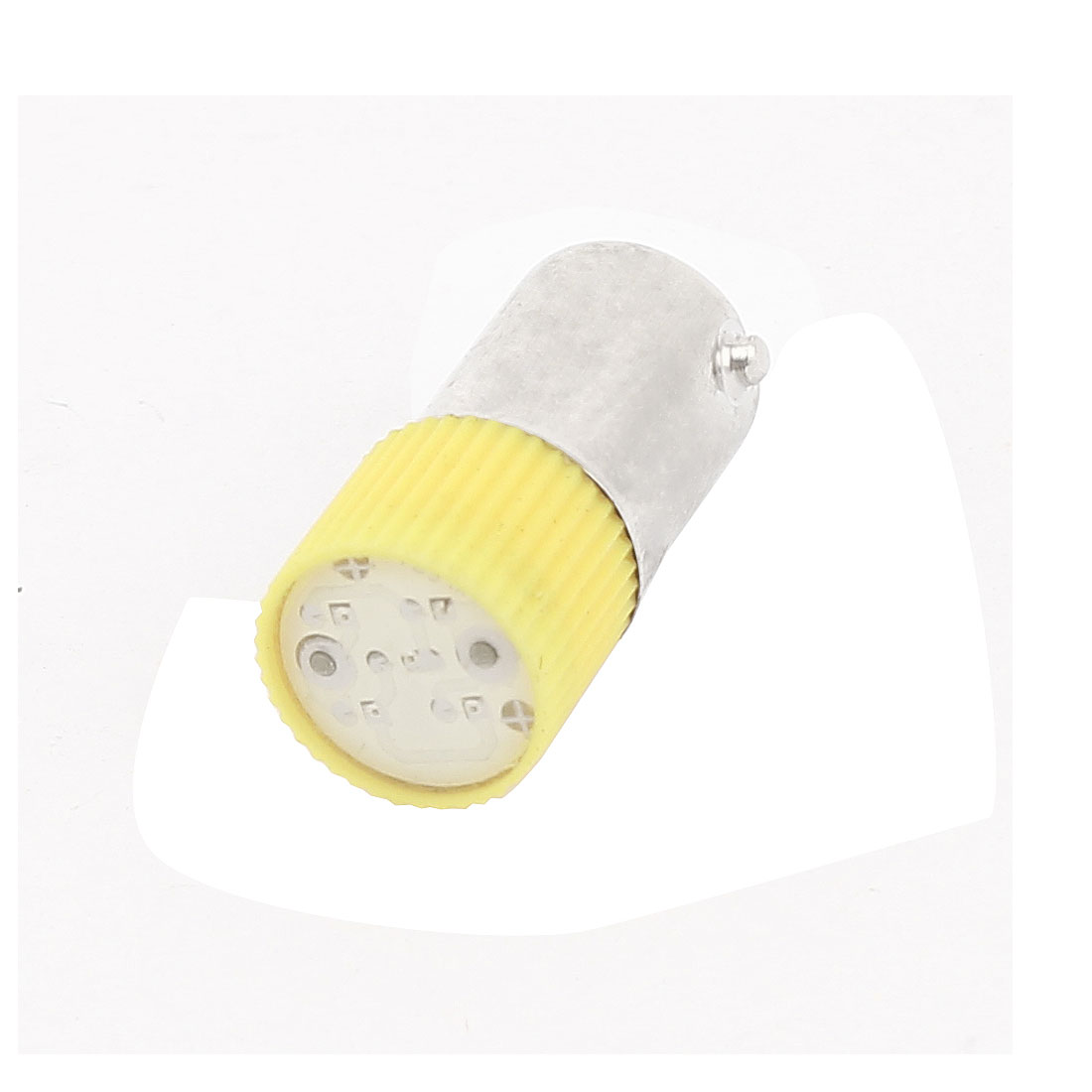 Industrial 10mm Round Head Yellow LED Bulb Signal Indicator Lamp AC 220V/240V 3A