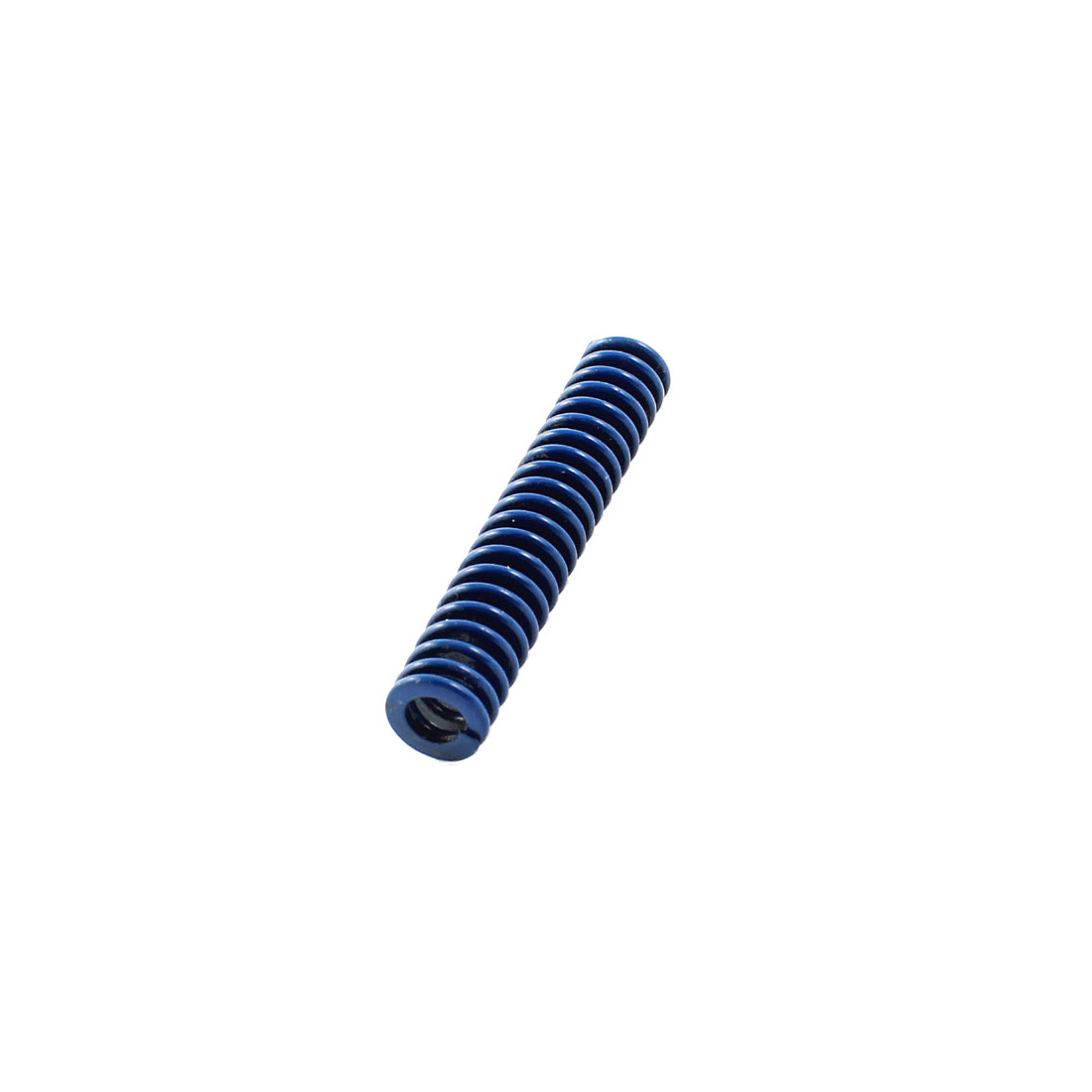 Plastic Injection Mold Die Light Load Spiral Stamping Compression Spring Blue 8mm x 45mm