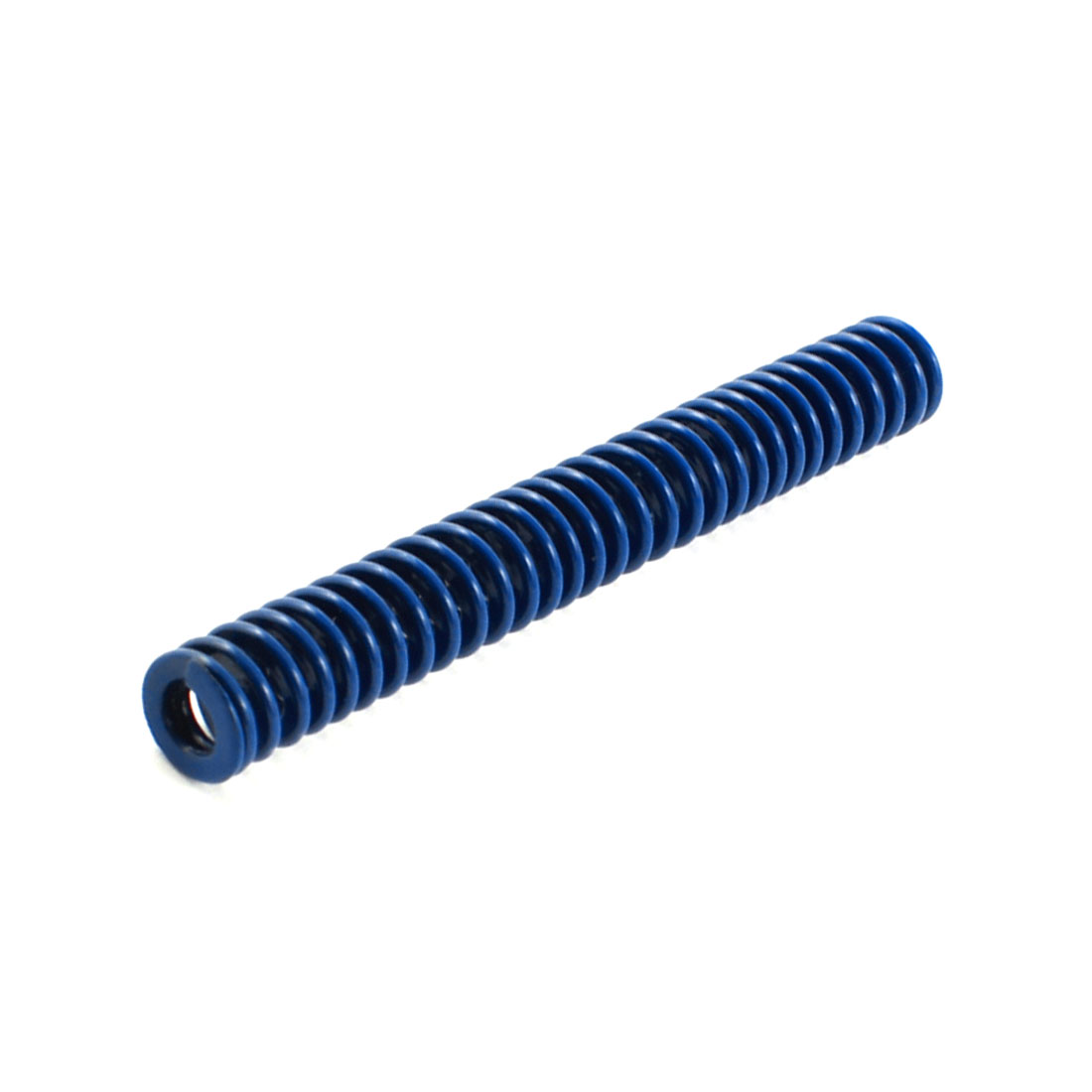 Plastic Injection Mold Die Light Load Spiral Stamping Compression Spring Blue 8mm x 65mm