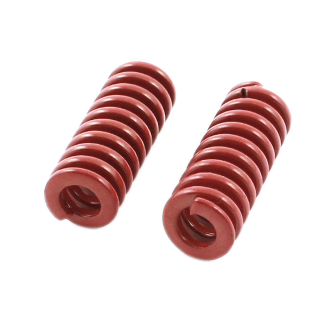 2Pcs Medium Load Red Spiral Stamping Compression Die Spring 8x20mm