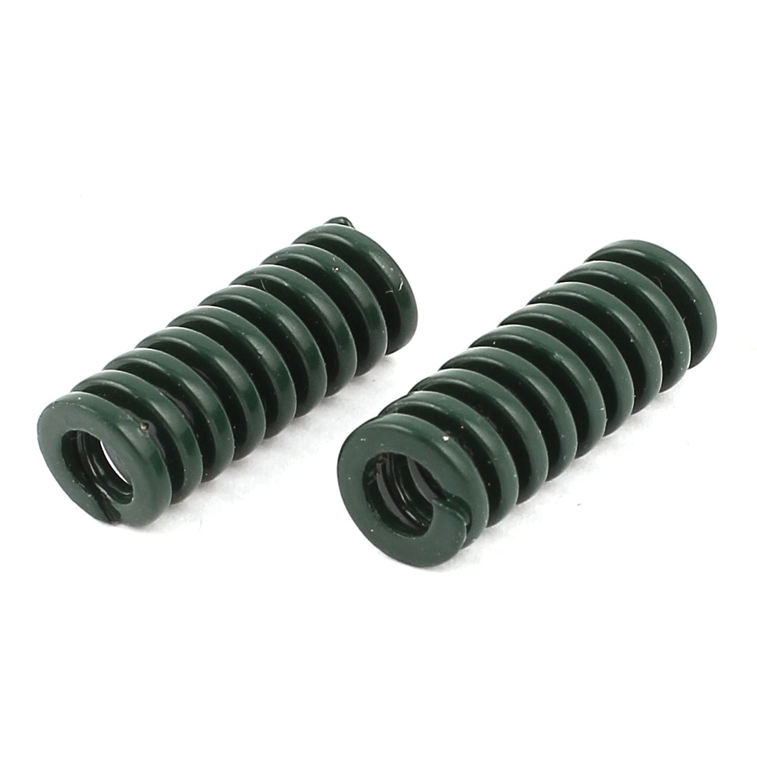 2Pcs Heavy Load Green Spiral Stamping Compression Die Spring 8x20mm