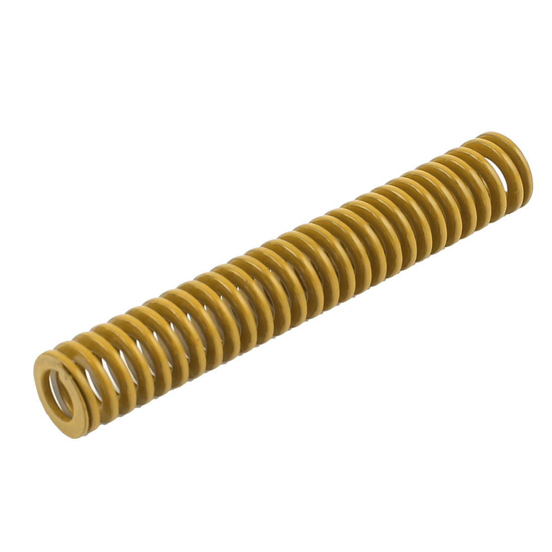 Lighter Load Yellow Spiral Stamping Compression Die Spring 10x60mm