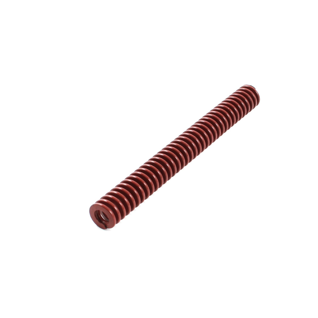 Medium Load Red Spiral Stamping Compression Die Spring 10x90mm