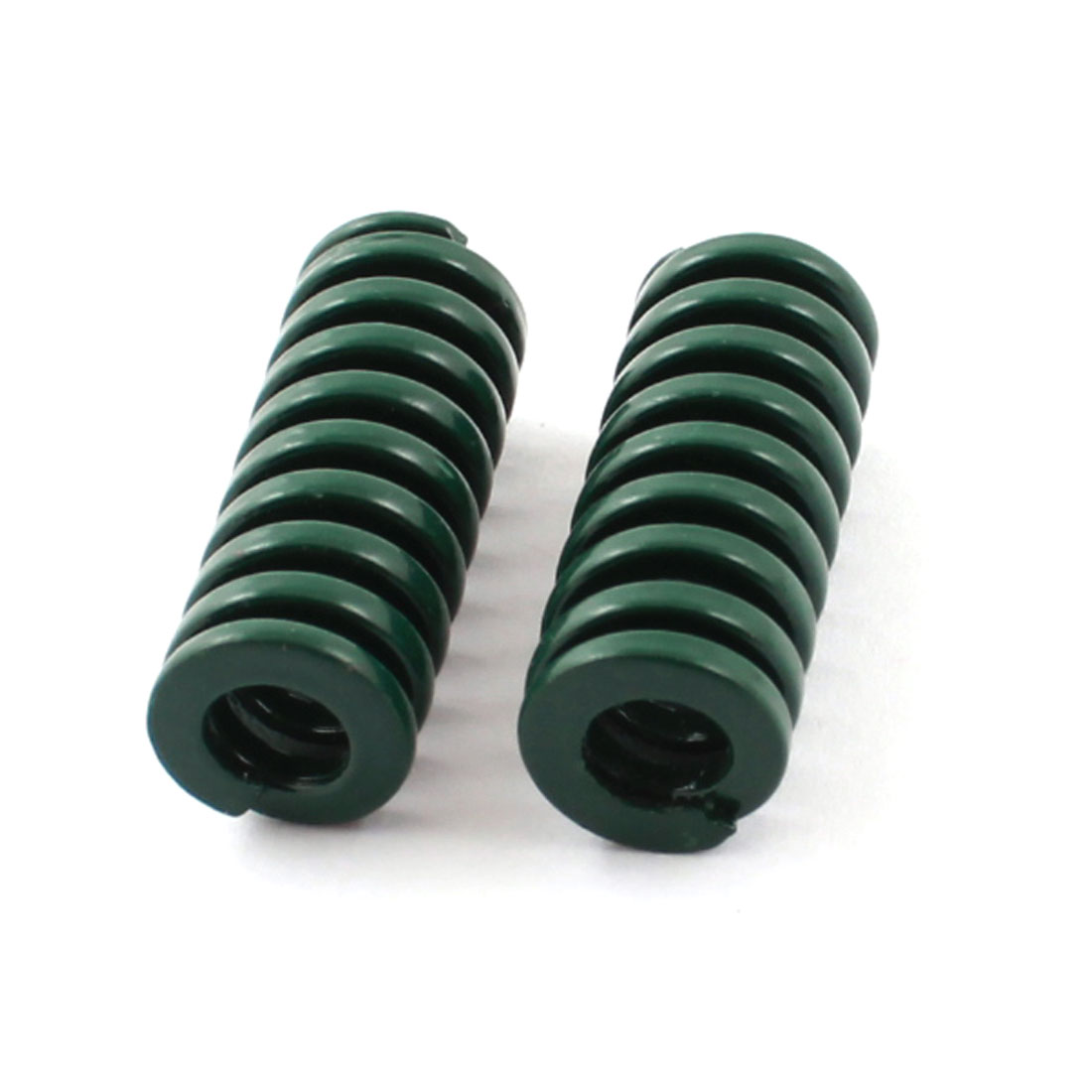 2Pcs Heavy Load Green Spiral Stamping Compression Die Spring 10x25mm