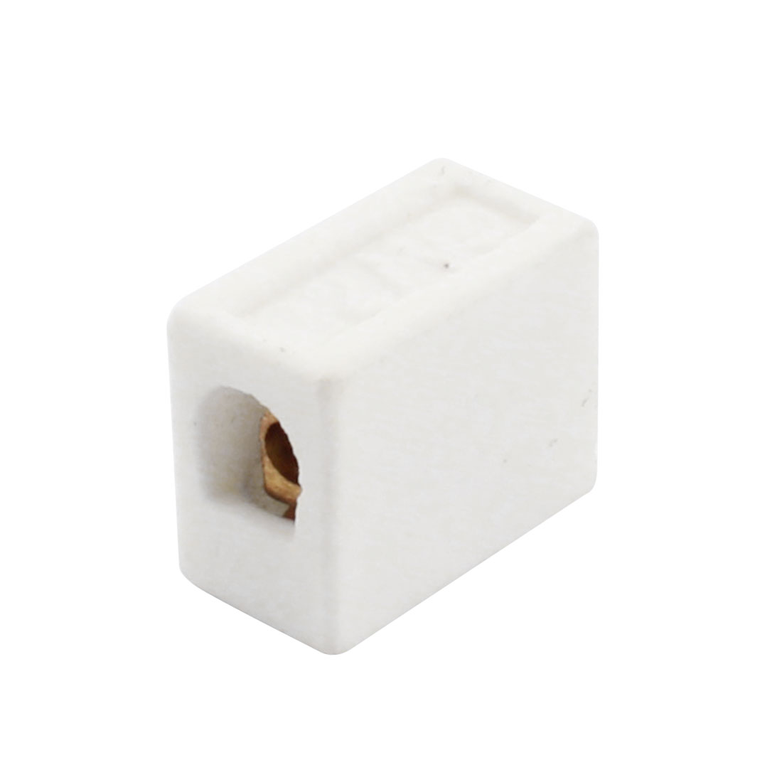 Connector Porcelain Ceramic Terminal Block 2 Way 2 Hole AC 250V 425C