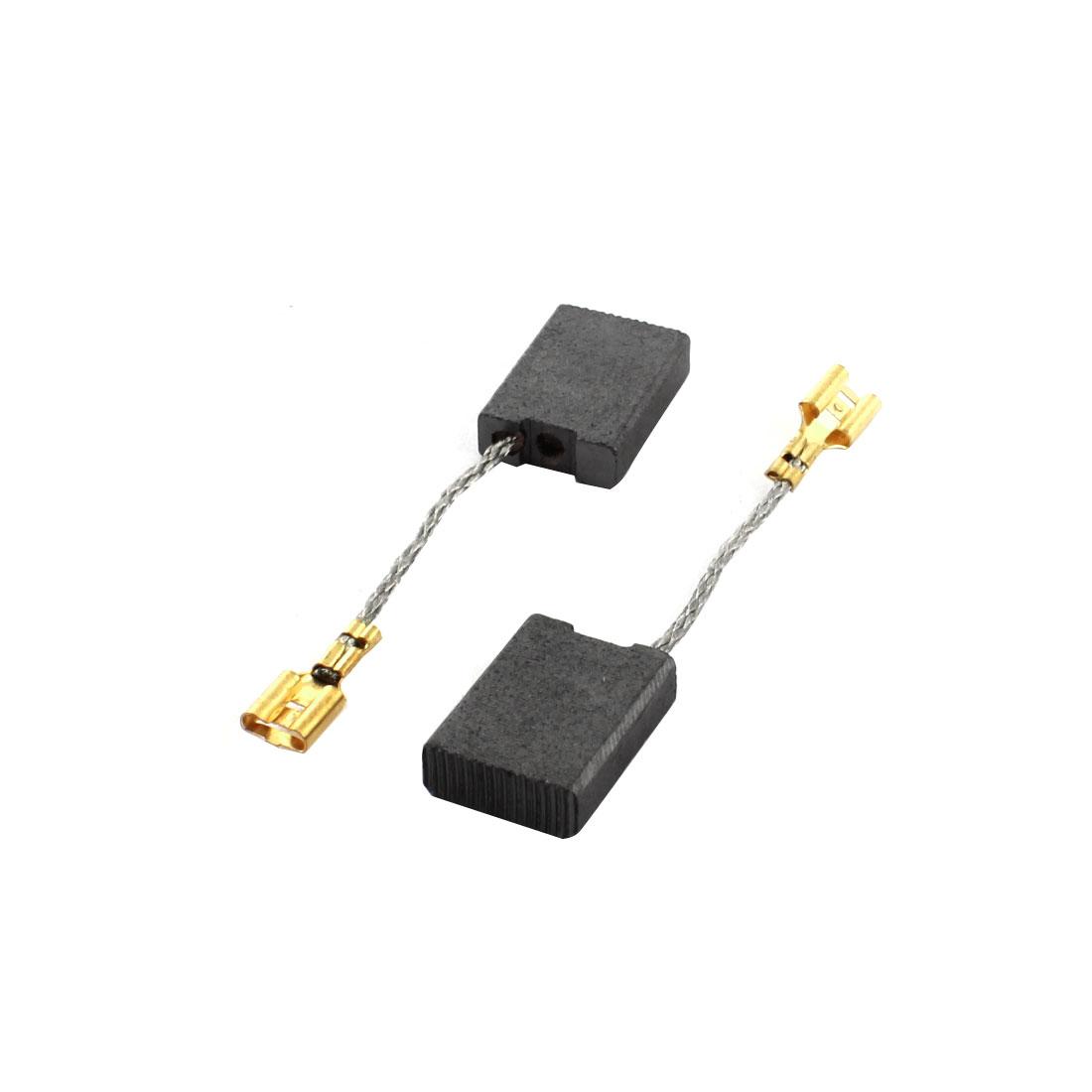 2 Pcs 15 x 5 x 22mm Carbon Brush for Bosch GBH11E Demolition Hammer