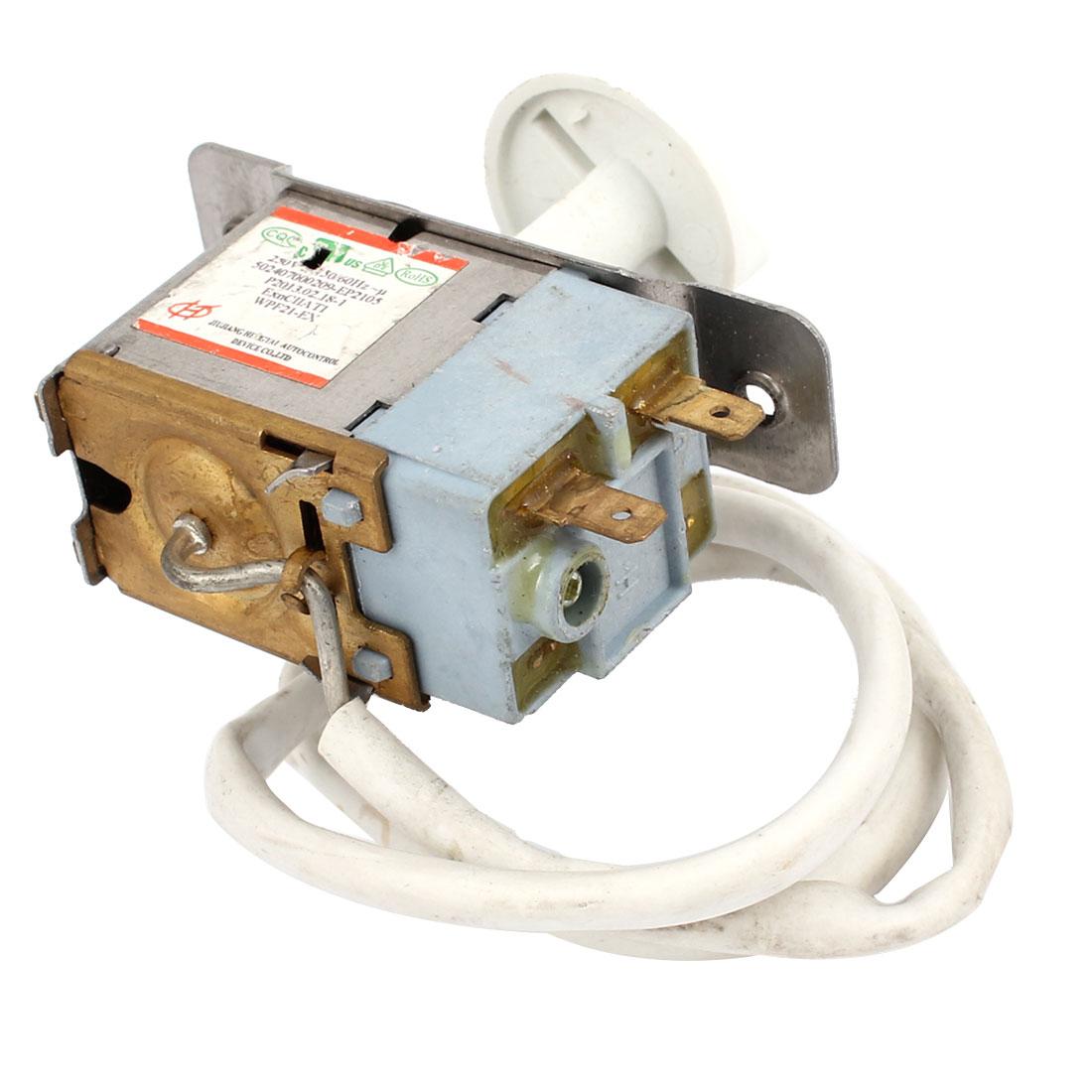 WPF21-EX AC 250V 6A 2 Terminal Freezer Refrigerator Insulating w Knob
