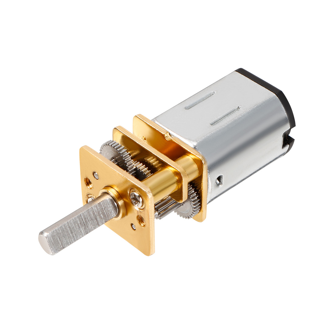 DC 3V 100RPM 3mm Diameter D Shaft Cylinder Shape 12mm Gearbox Speed Reduce Motor