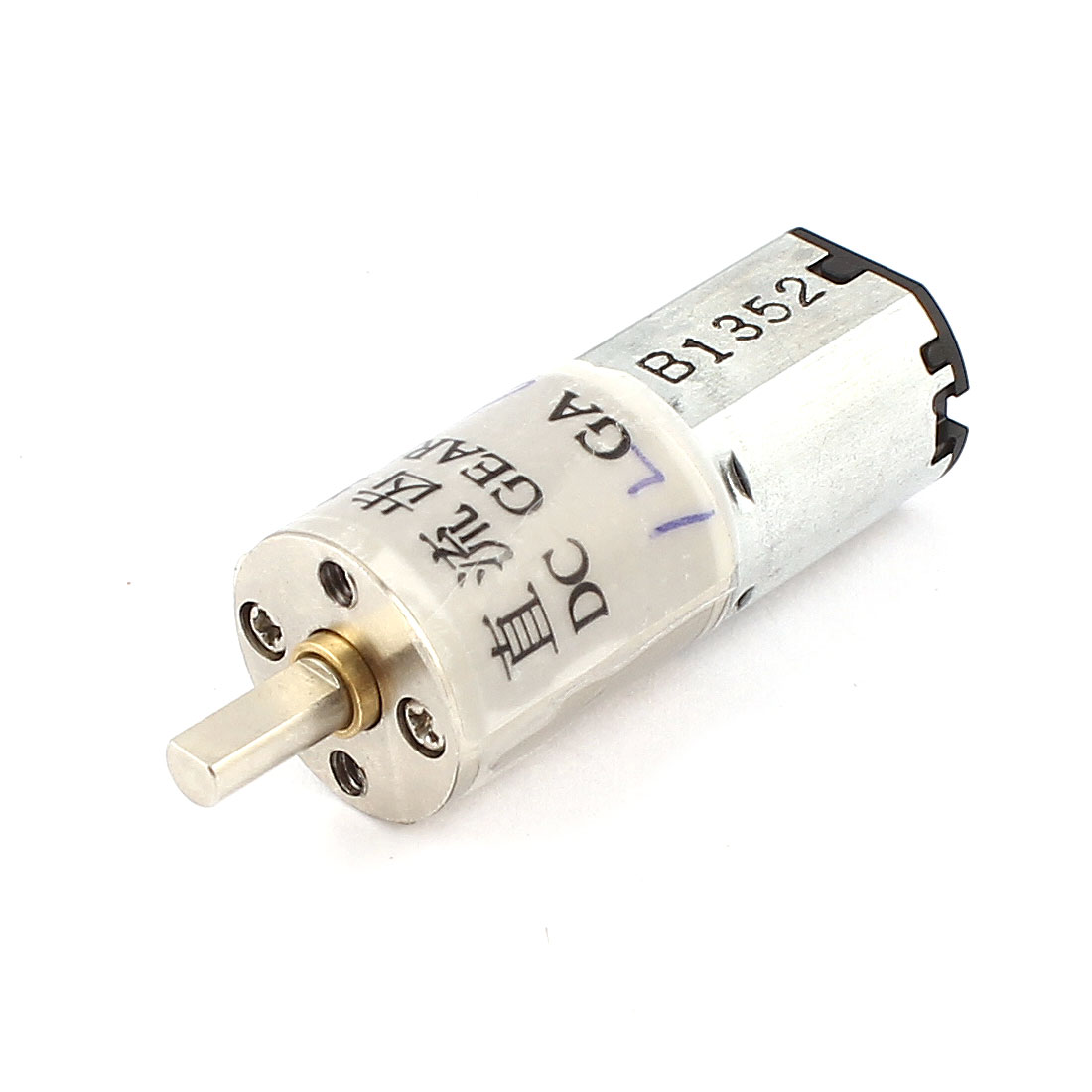 DC 6V 120RPM 3mm Diameter D Shaft Cylinder Electric Gearbox Speed Reducing Motor