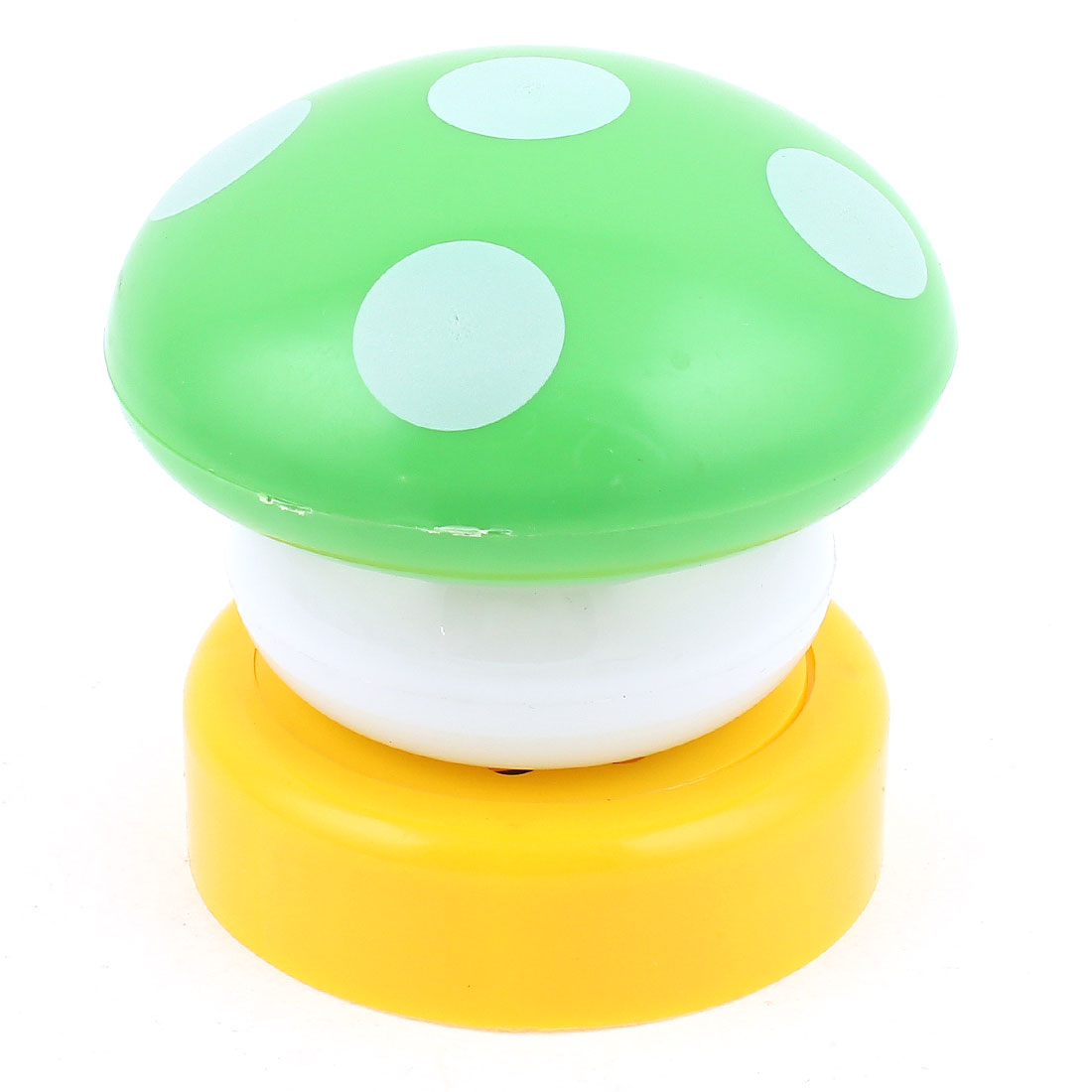 Mushroom Head Press Down Touch LED Lamp Bed Desk Night Light Green