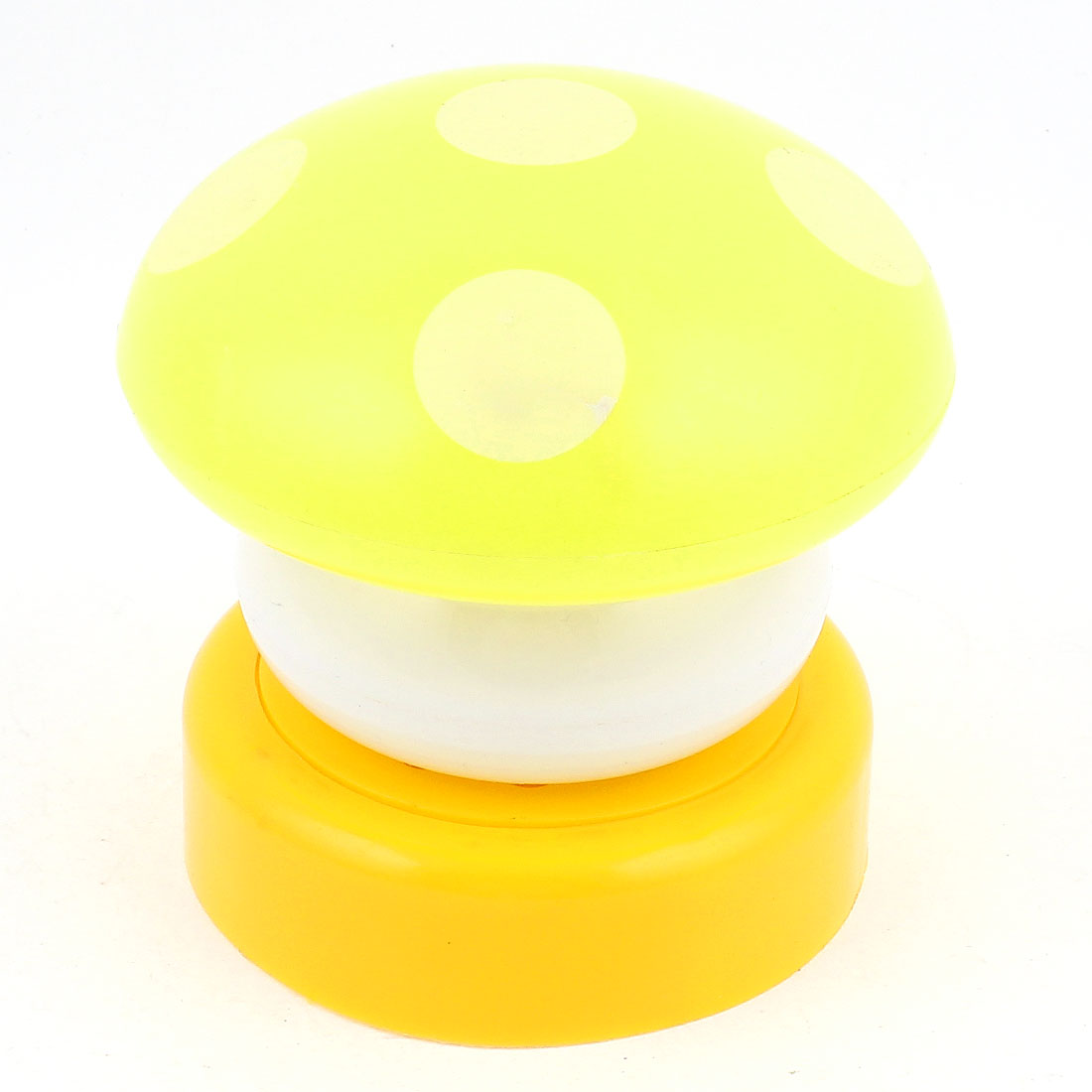 Mushroom Head Press Down Touch LED Lamp Night Light Yellow