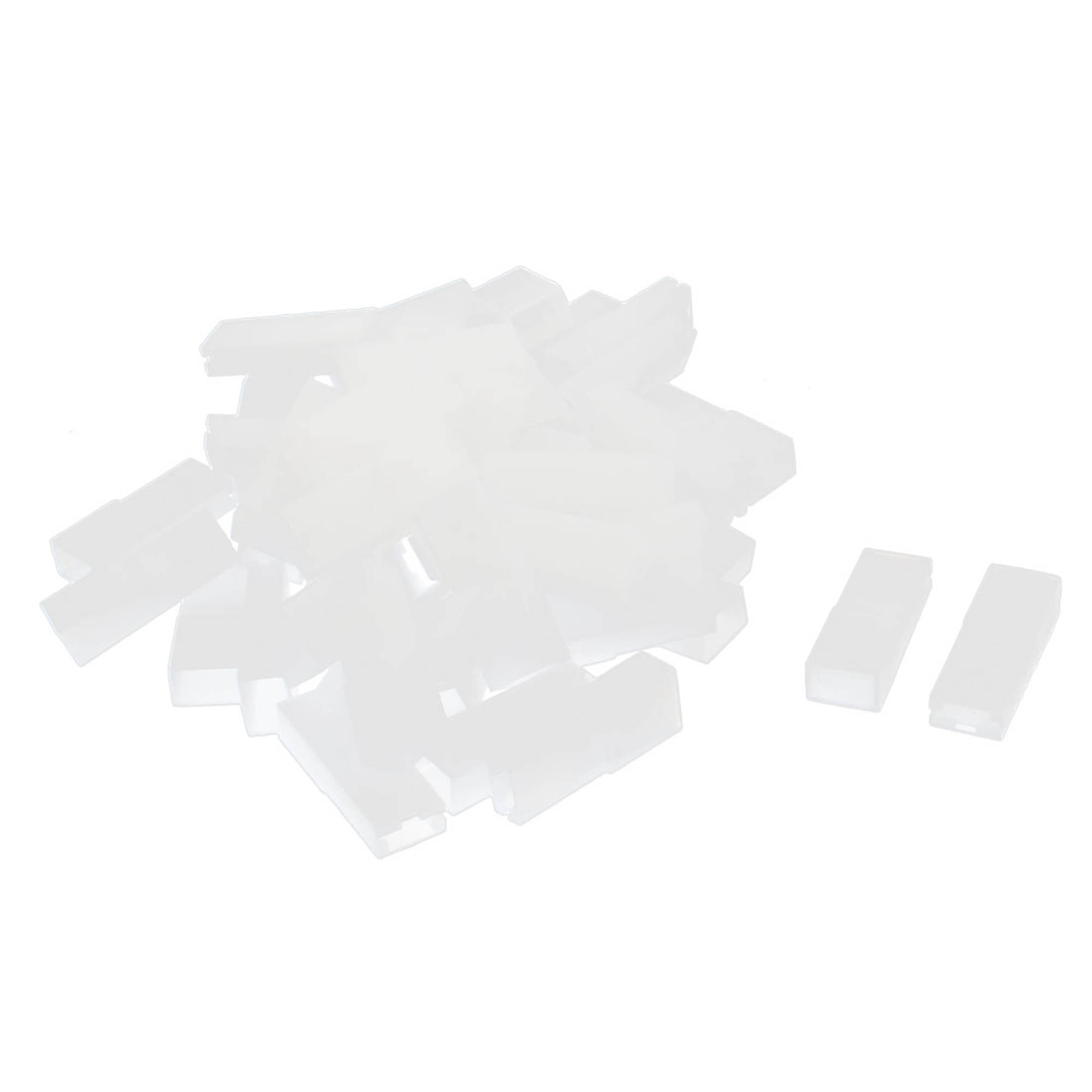 6.3mm Plastic Insulation Car/RC/RV/Boat/Scooter Female Spade Terminal Terminal Connector 50 Pcs