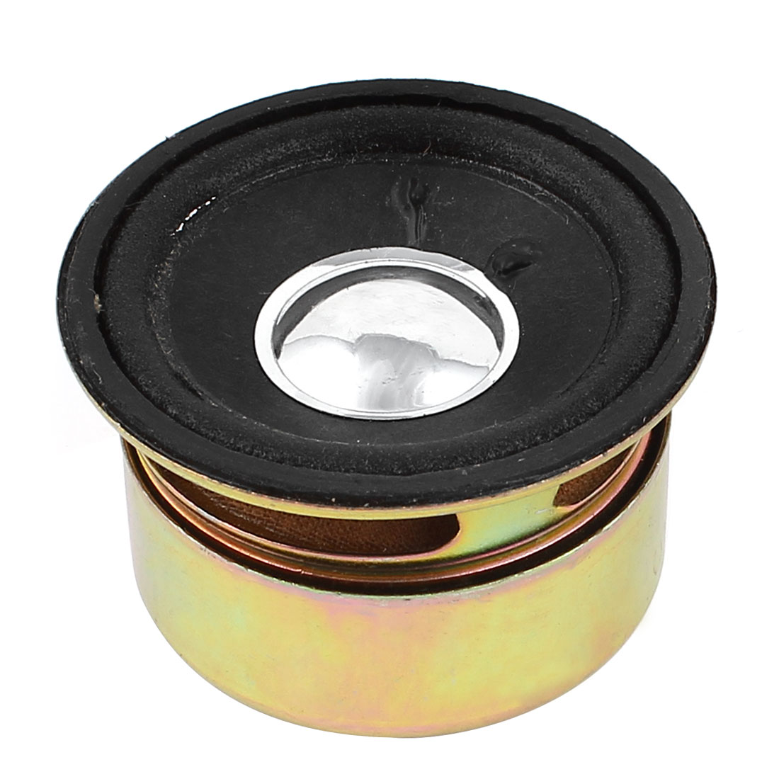 3W 4 Ohm 50mmx30mm Round Shape Metal Shell Magnet Electronic Speaker Loudspeaker
