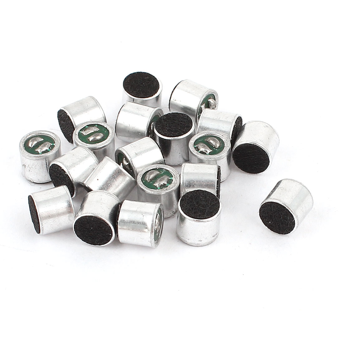20 Pcs Cylindrical SMD Electret Condenser Microphone Pick-up 6mmx5mm Replacement