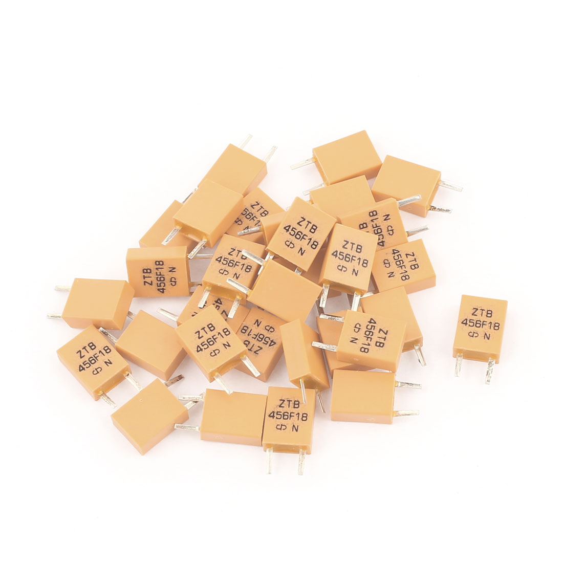 30 Pcs ZTB456 456KHz Radial Lead 2Pin Through Hole Ceramic Crystal Resonator for TV Remote Control
