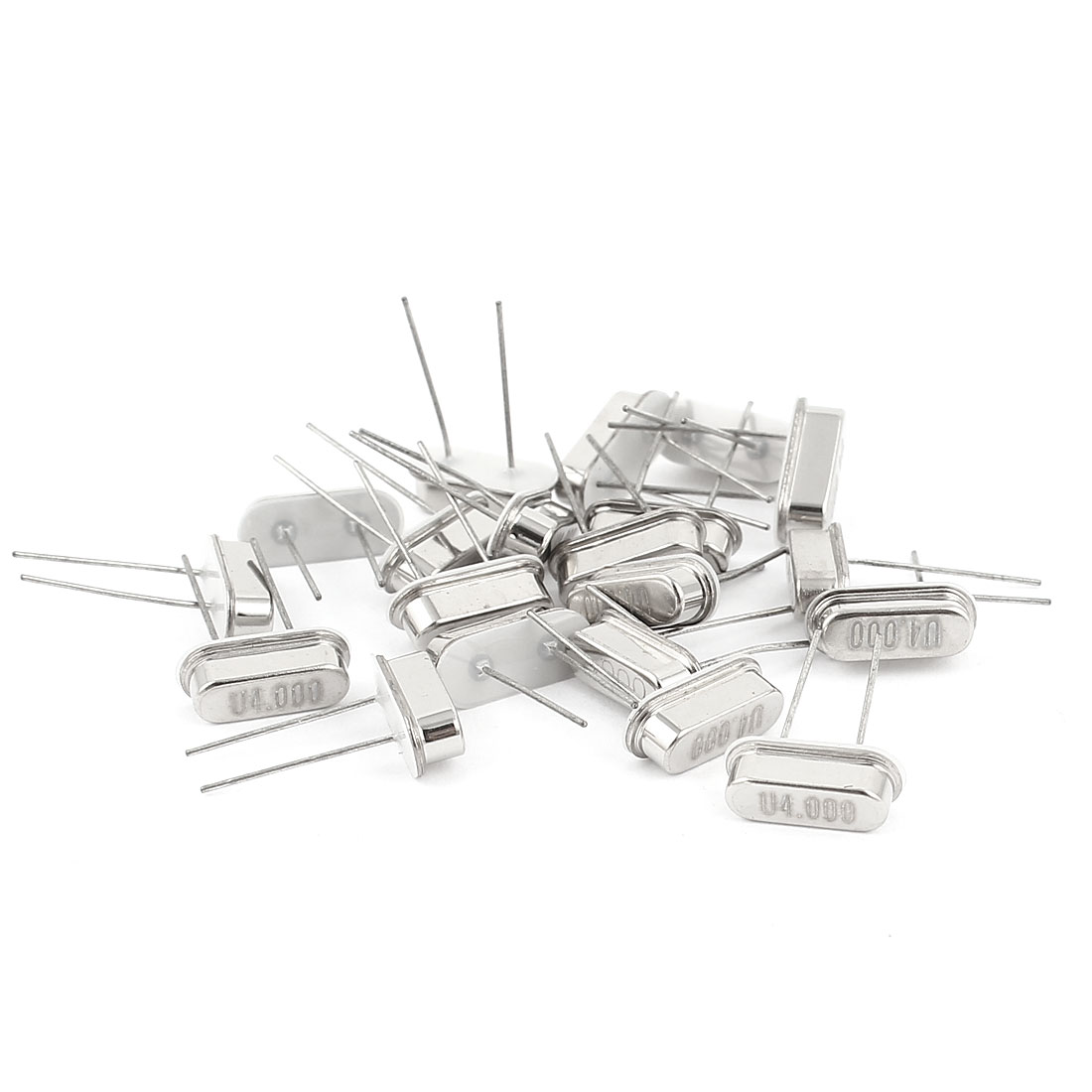 20 Pcs Low Profile 4MHZ 4.000MHZ DIP Quartz Crystal Oscillator HC-49S Replacement