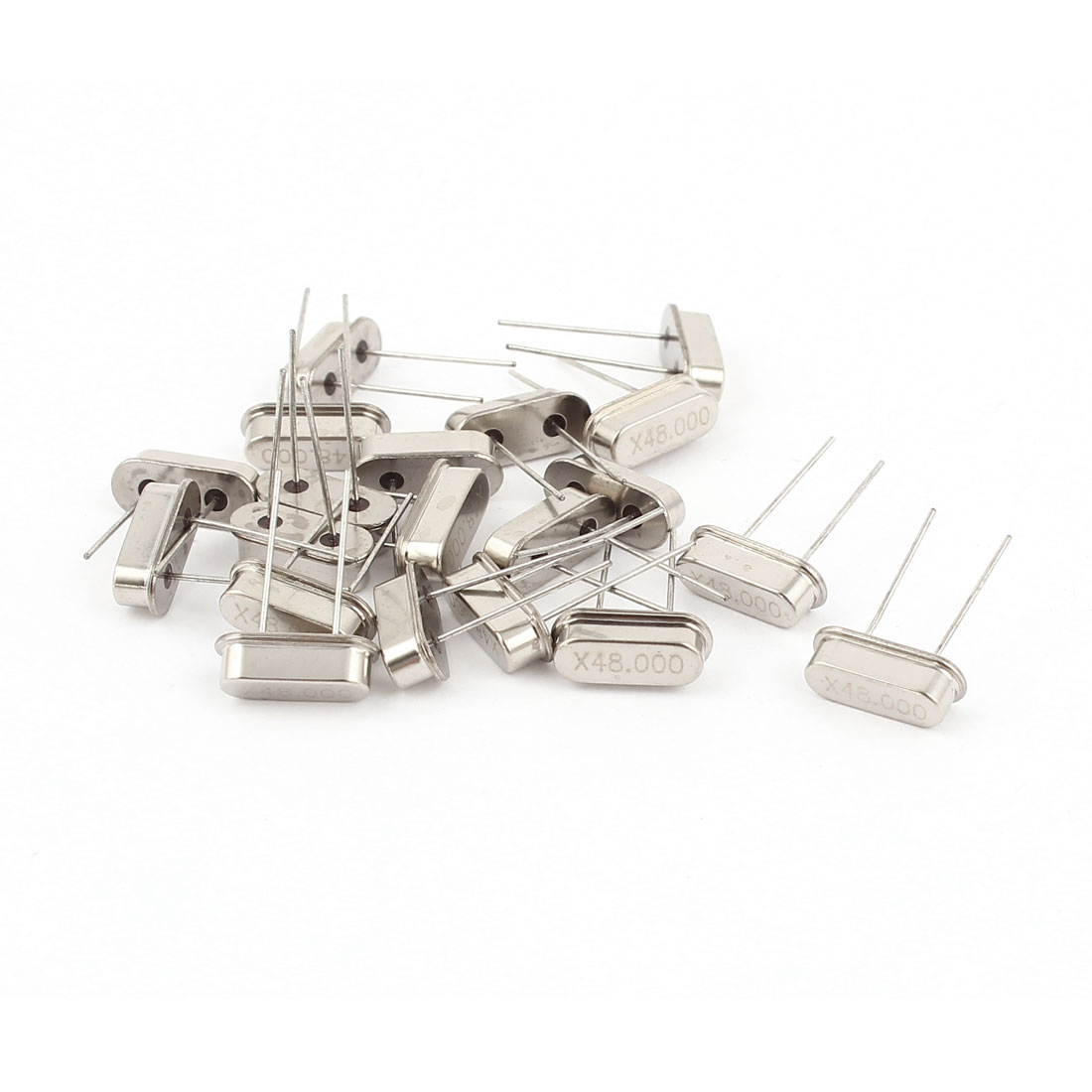 20 Pcs Low Profile 48MHZ 48.000MHZ Quartz Crystal Oscillator HC-49S Replacements