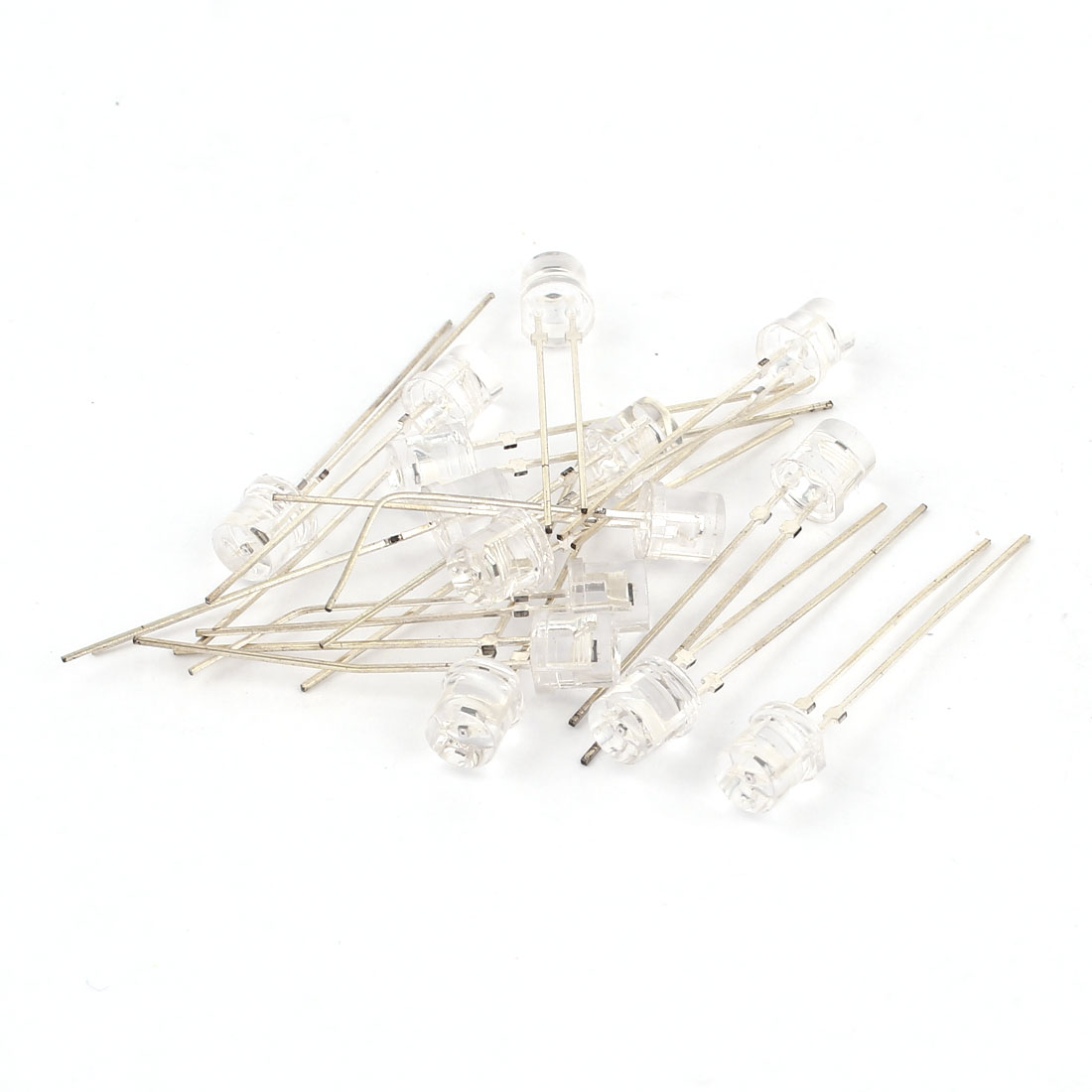 15 Pcs Clear 5mm Straw Hat Photodiode Photosensitive Light Sensitive Diodes