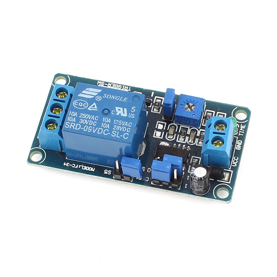 Single Channel Time Delay Relay Module Control Board DC9V FC-34