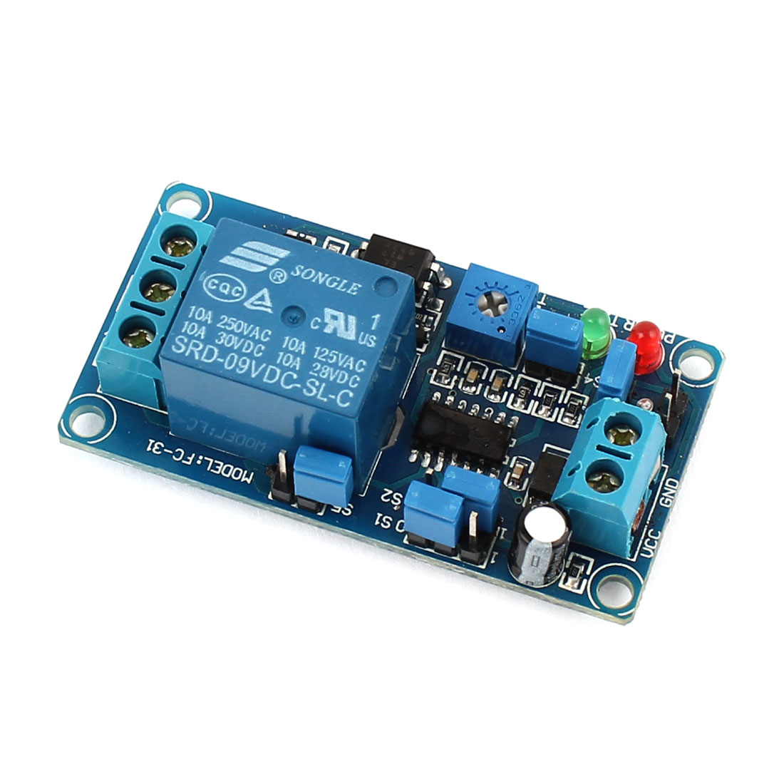 DC 9V DIY Blue H/L Level Trigger Relay Switch Expansion Circuit Board Module FC-31