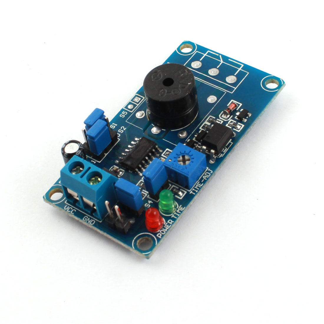 DC 5V High/Low Level Trigger 85dB Buzzer Alarm Time Delay Module FC-31