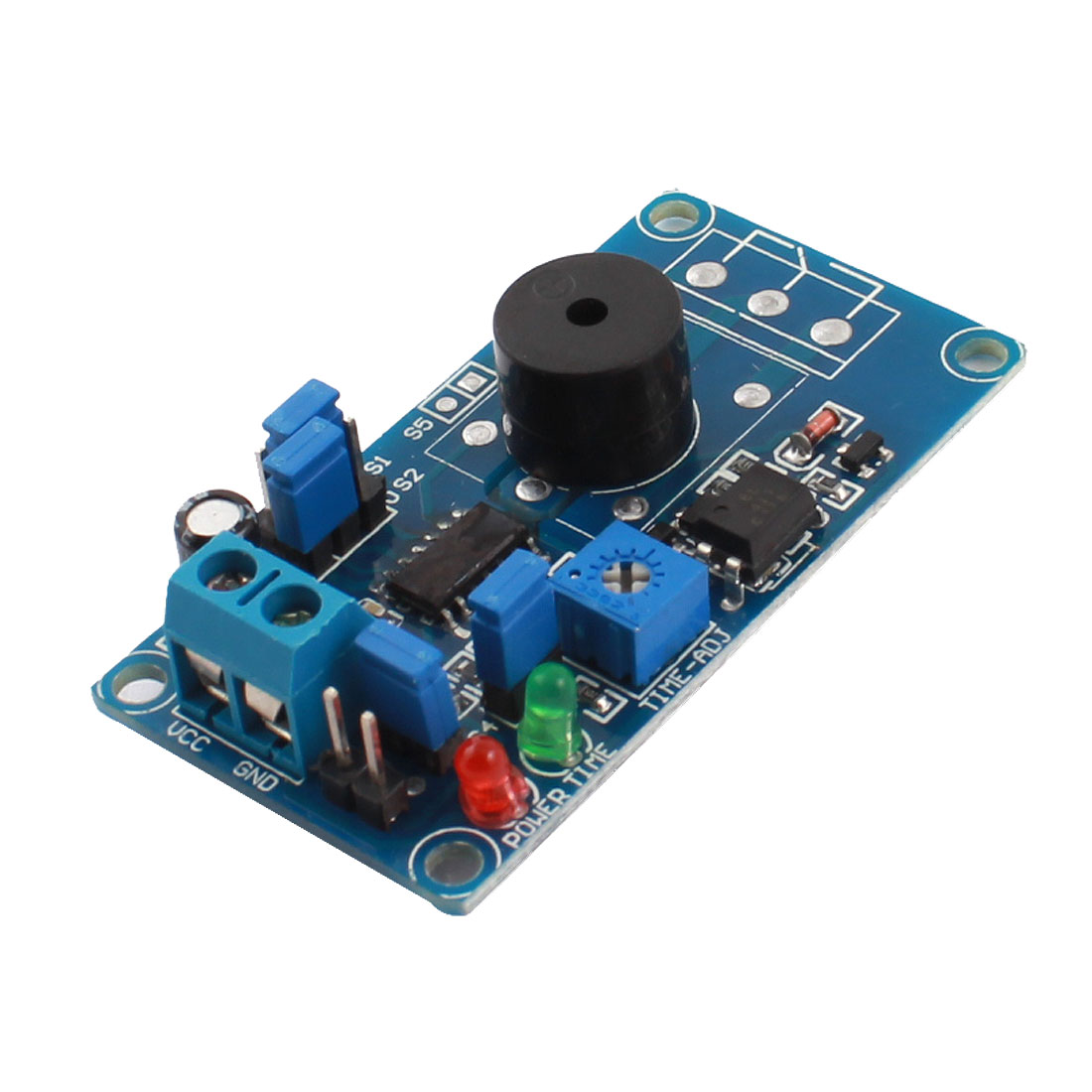 DC12V High/Low Level Trigger 85dB Buzzer Alarm Time Delay Module FC-31