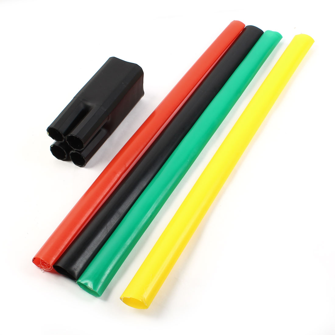 1KV 70-120mm2 Multi Color Heat Shrinkable Bushing 4 Way Heatshrink Breakout Boot