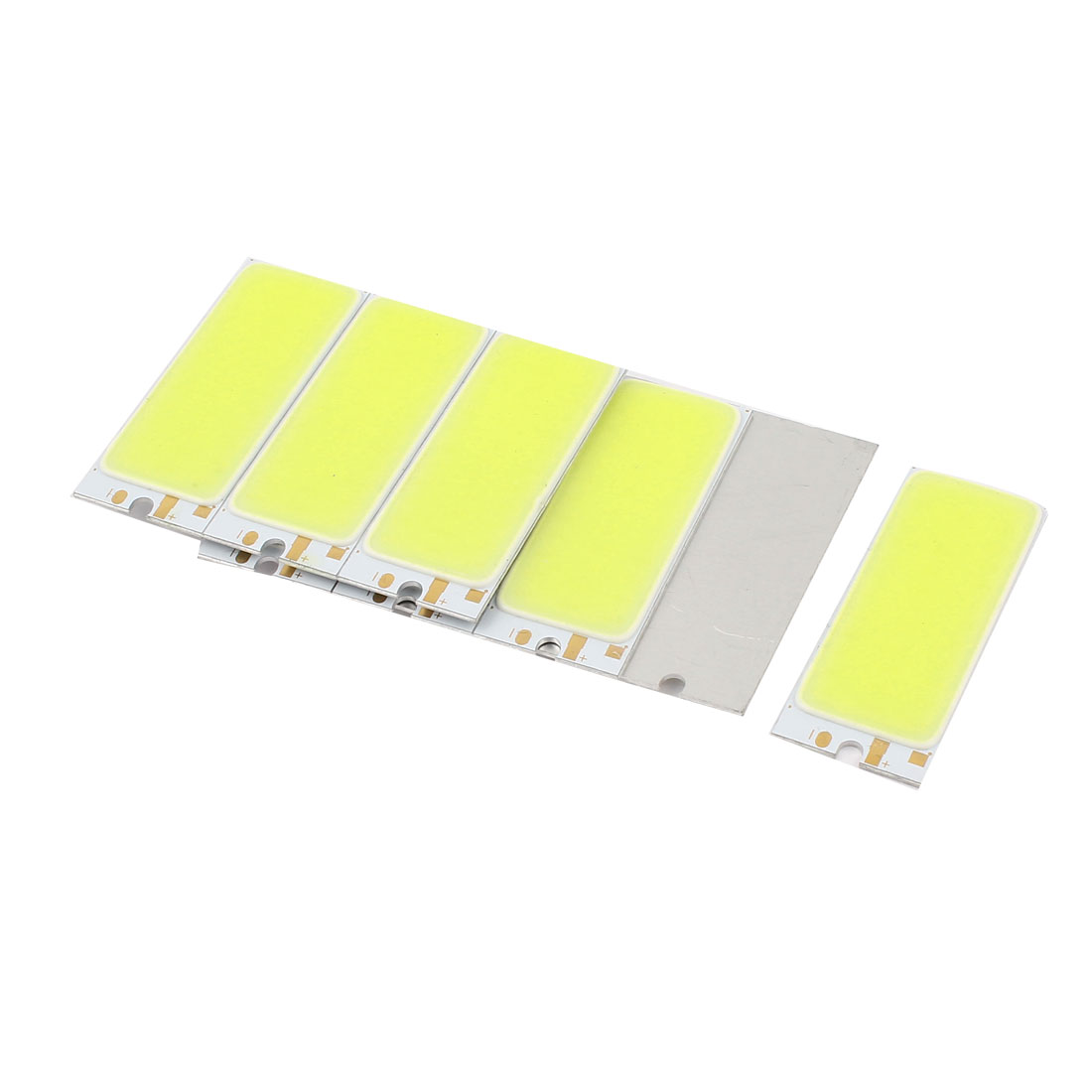 3W DC9-11V 300mA 80-90LM/W White LED Light COB Lamp Bead Chip 10pcs