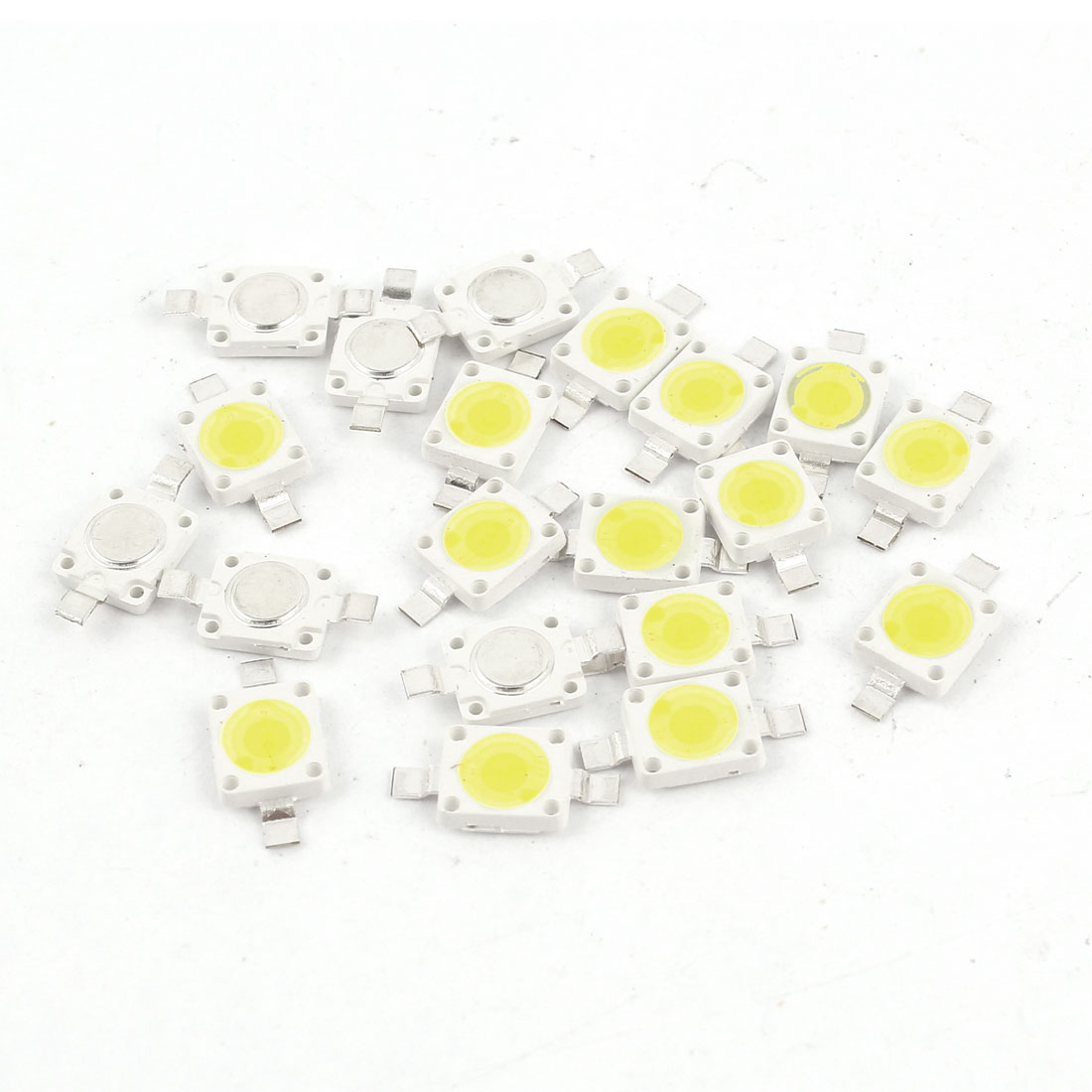 3.0-3.6V 350mA 1W Pure White High Power LED Bead SMD 6070 Chip Lamp Light 20pcs