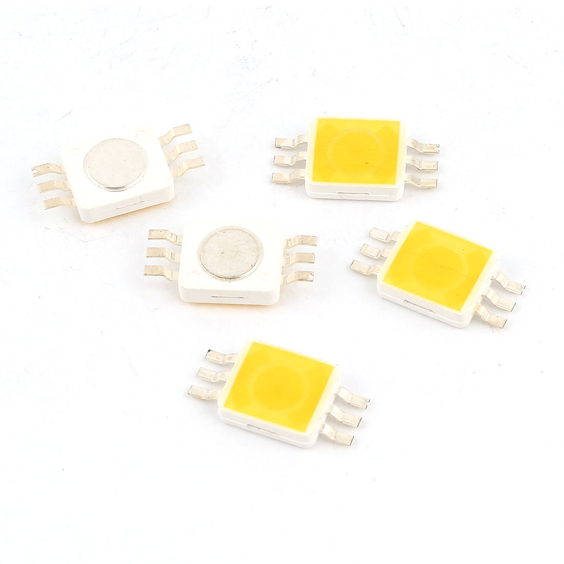 5pcs Warm White Light SMD 9280 LED Bead Chip Bulb 3.0-3.6V 350mA 1W 90LM