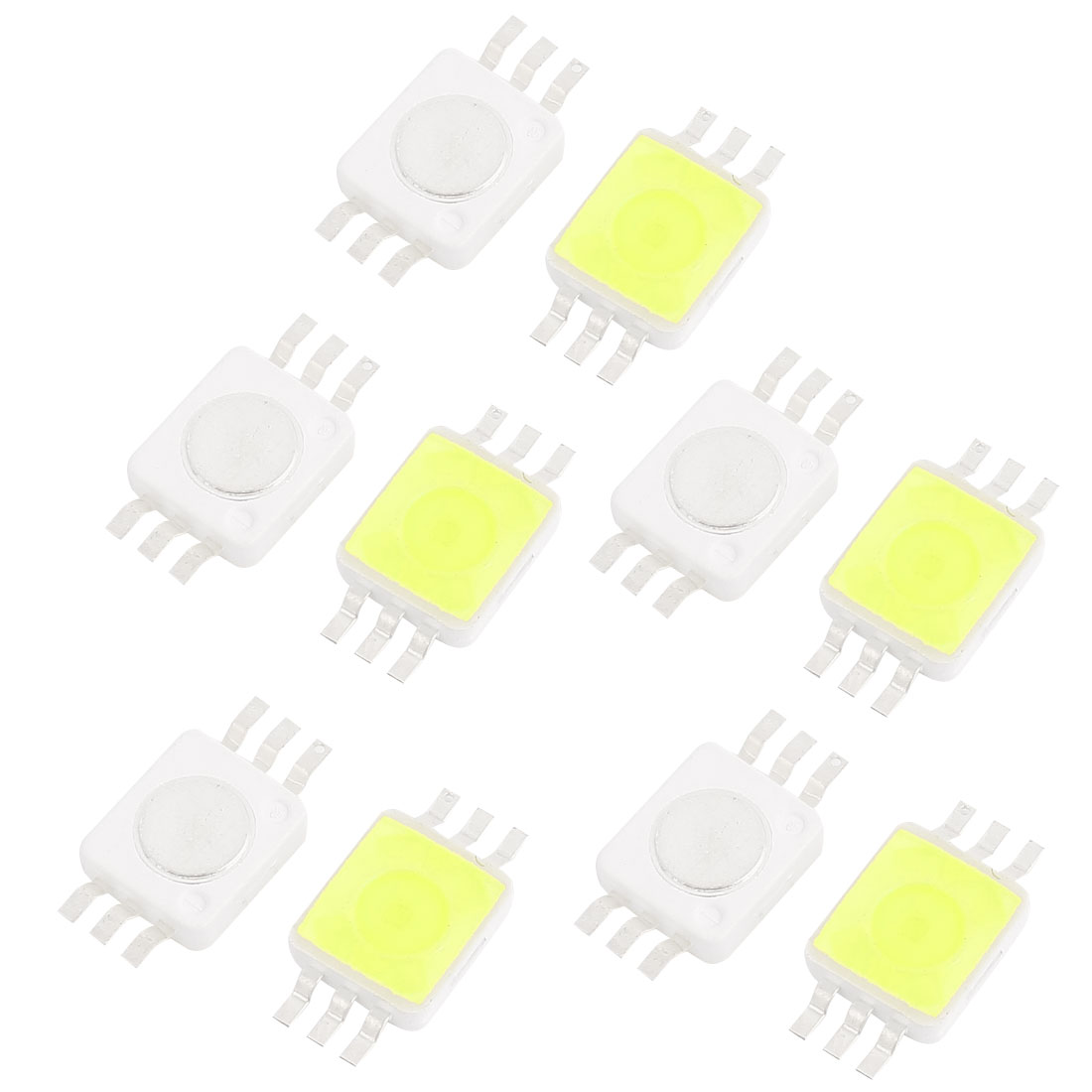 10 Pcs Pure White Light SMD 9280 LED Bead Chip Lamp 3.0-3.6V 350mA 1W 80LM