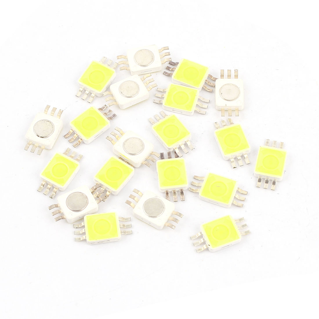 20pcs Pure White Light SMD 9280 LED Bead Chip Bulb 3.0-3.6V 350mA 1W 90LM